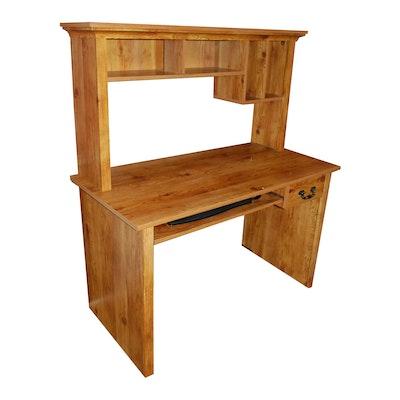 Computer Desk with Hutch - Vintage Desks, Antique Desks And Used Desks Auction In Art, Décor