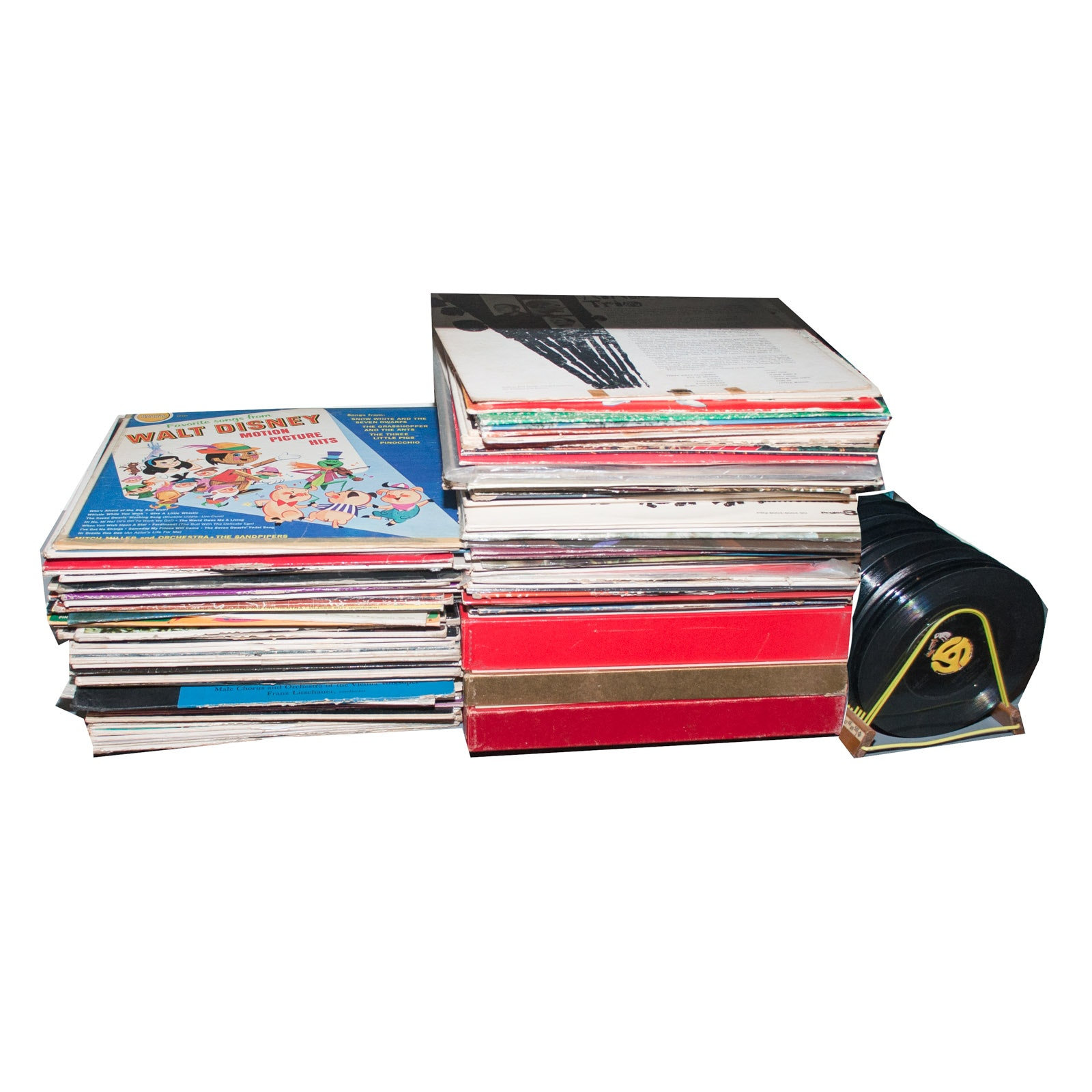 Assorted Vinyl Record Albums