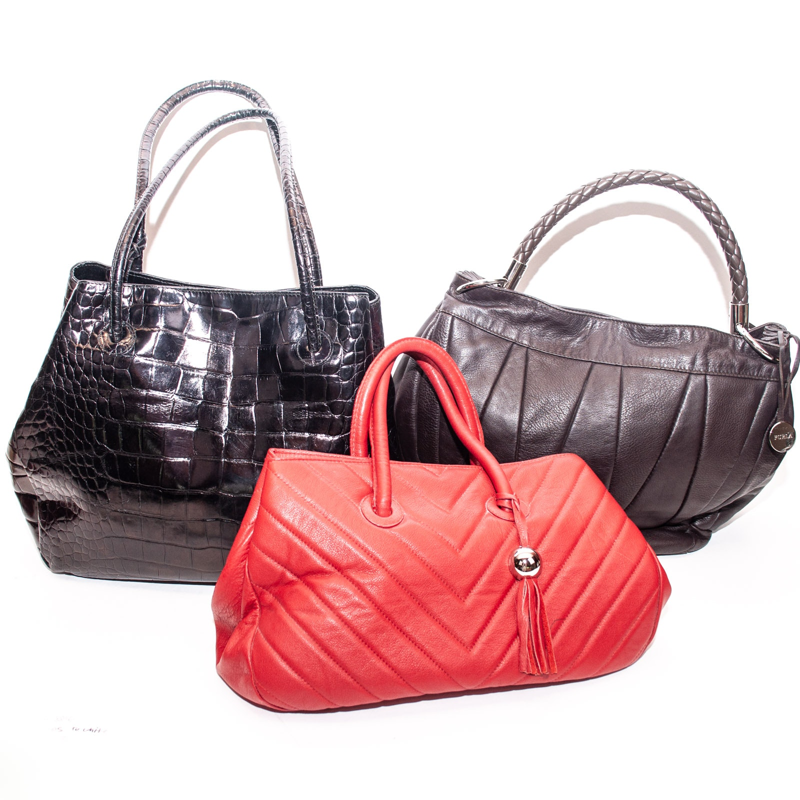 Italian Leather Handbags by Furla