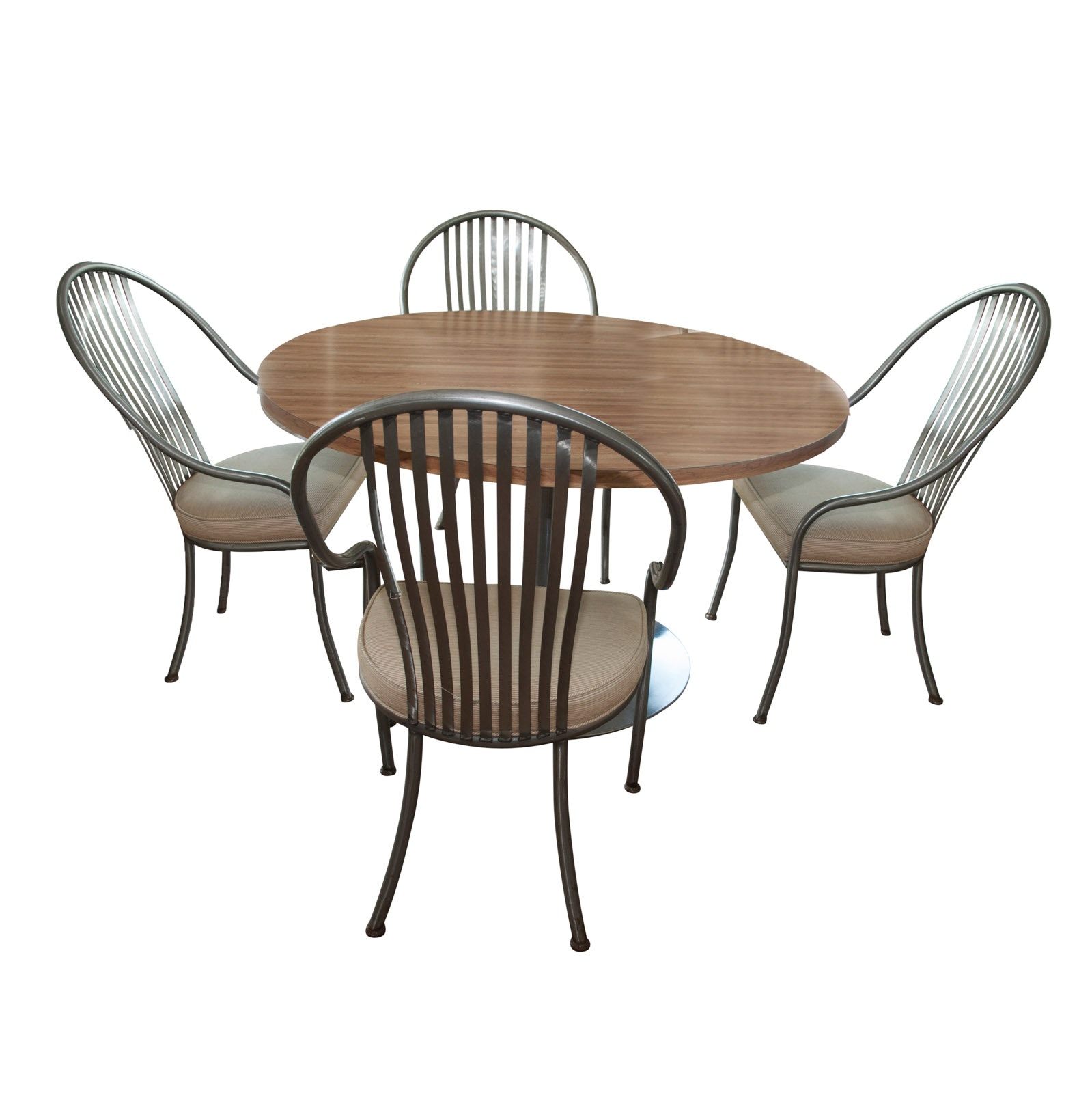 Contemporary Dining Table with Four Chairs
