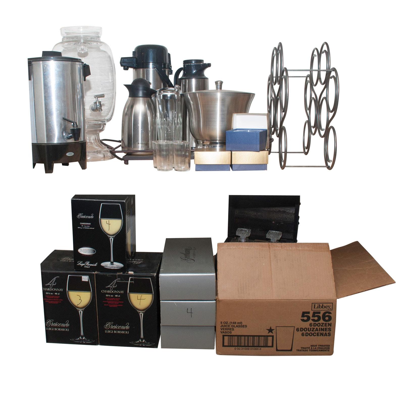 Beverage and Barware Assortment