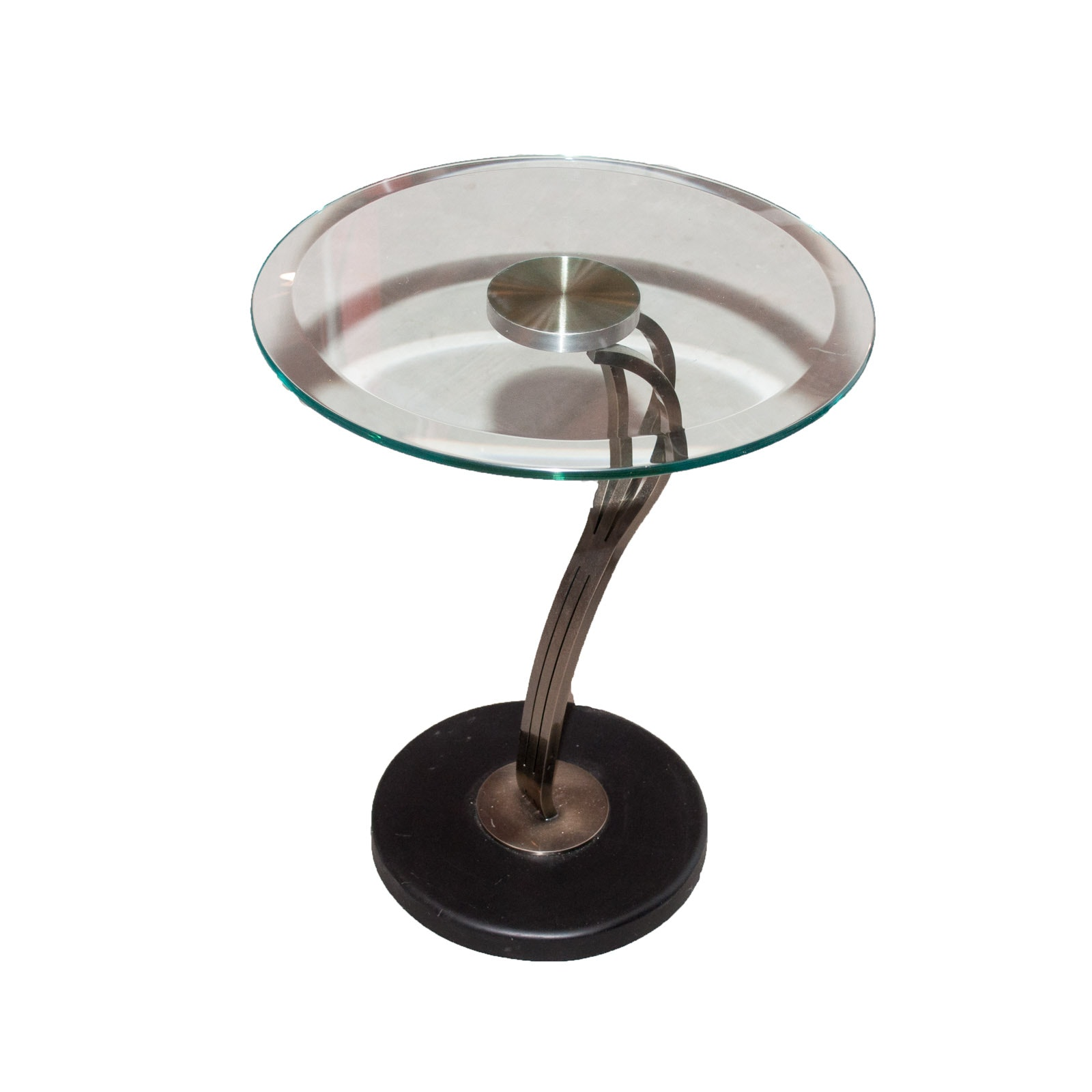 Modern Glass Top Table