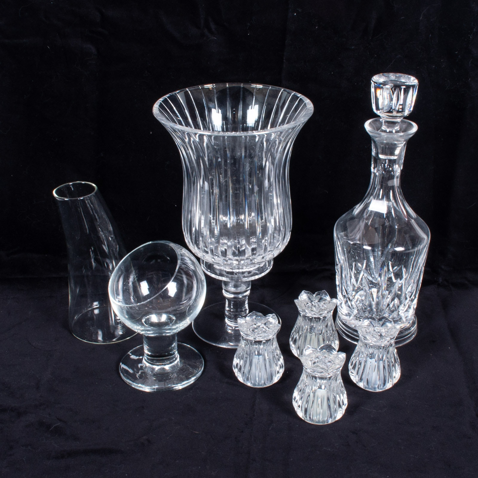 Crystal and Glass Including Eisch, Atlantis and Sterling Glass