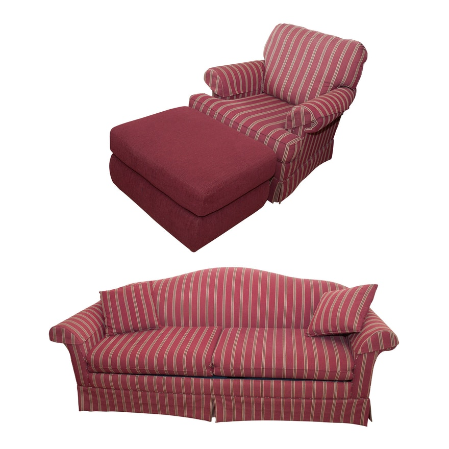 La-Z-Boy Sleeper Sofa, Chair and Ottoman
