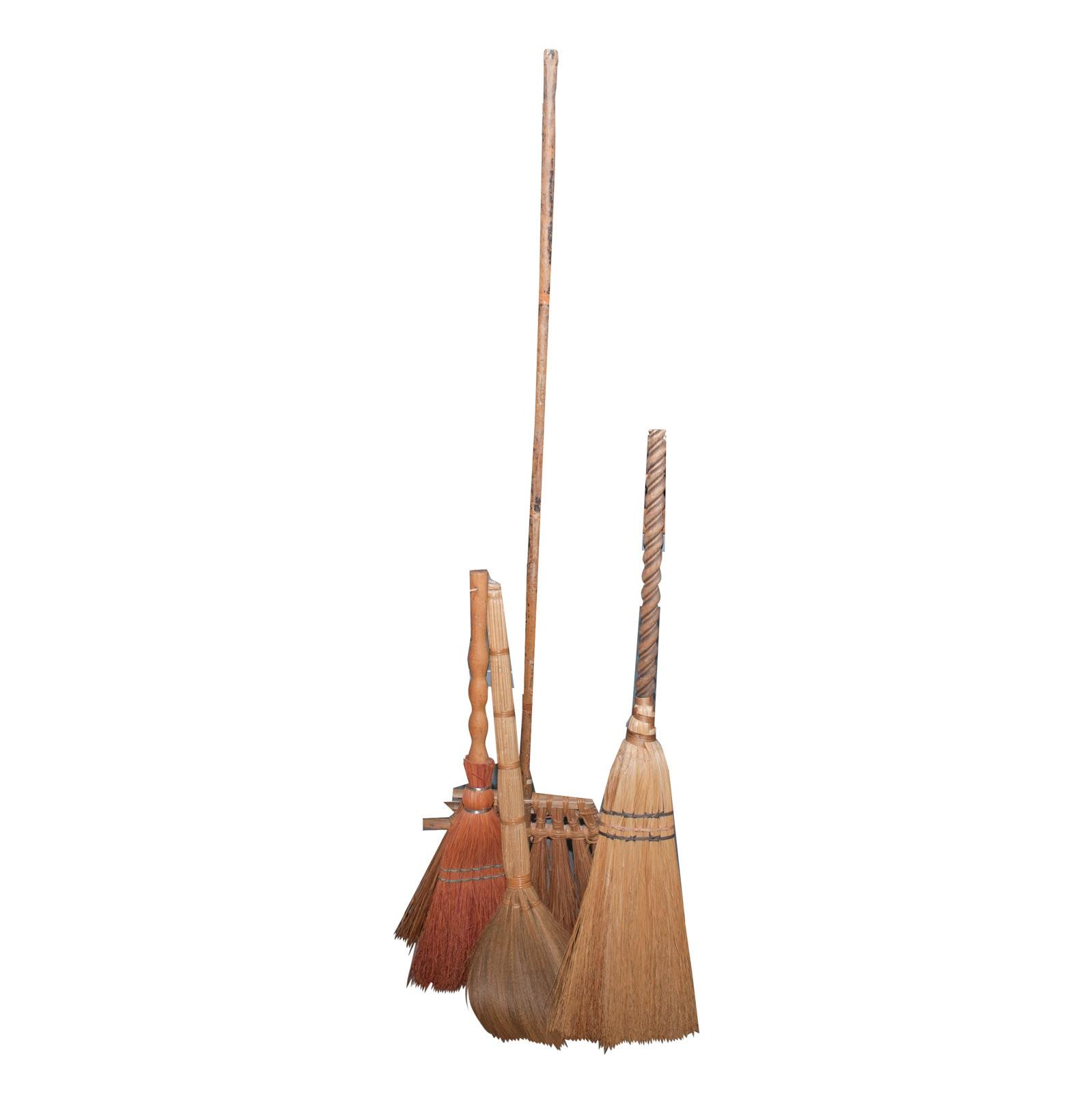 Handmade Hearth Brooms