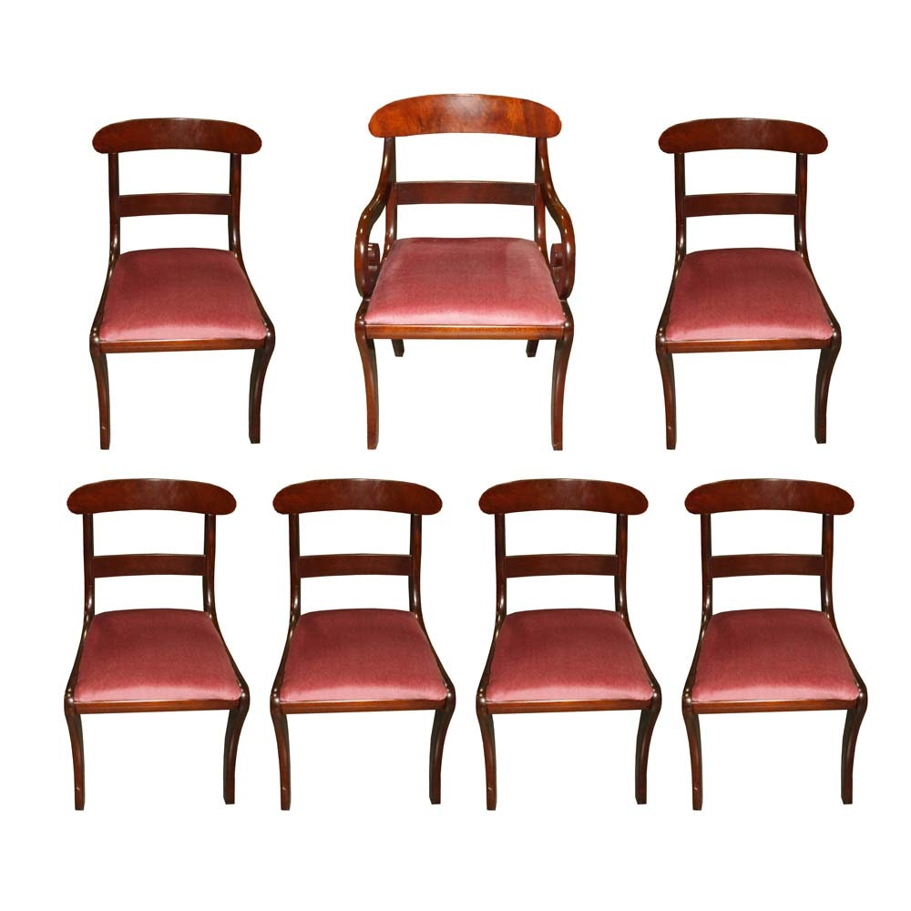 Vintage Duncan Phyfe Style Dining Chairs