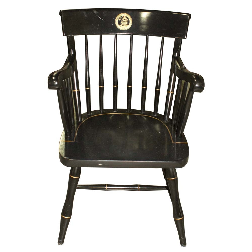 """Nichols and Stone """"Babson College"""" Armchair"""