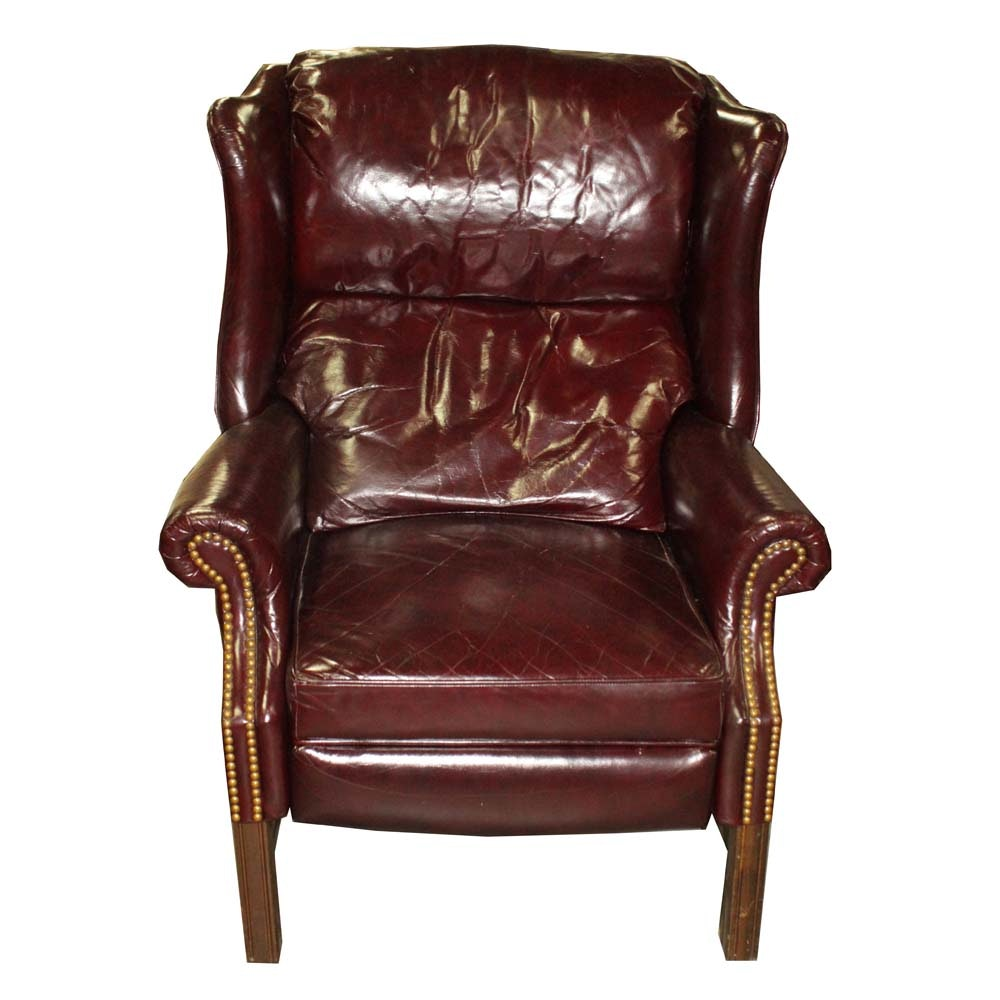 Action Lane Leather Recliner