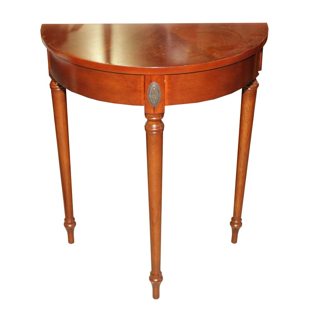 The Bombay Company Demilune Side Table