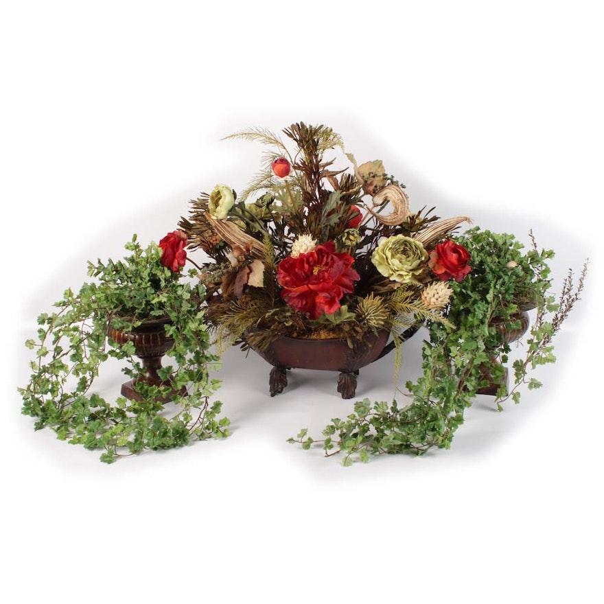 . Contemporary Floral Arrangements