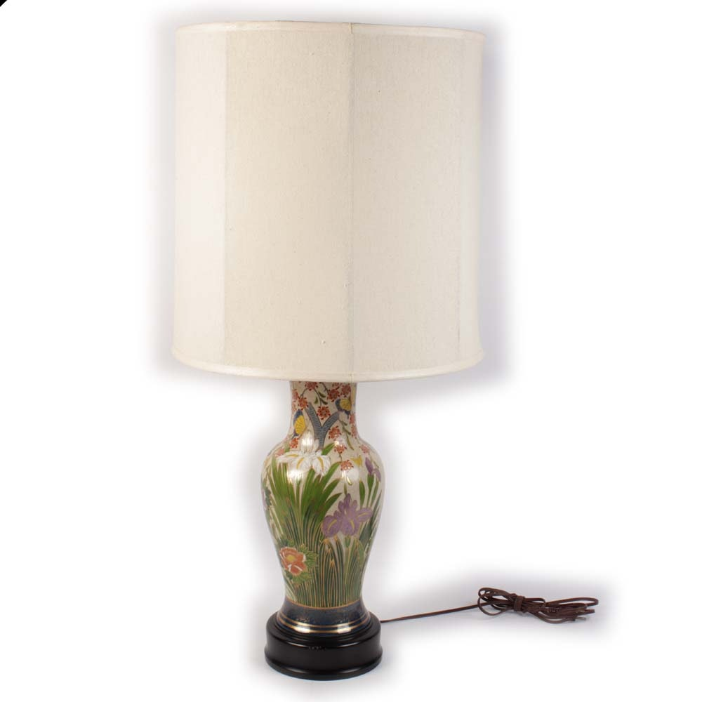"Speer Collectibles ""Fujita Kutani"" Table Lamp"