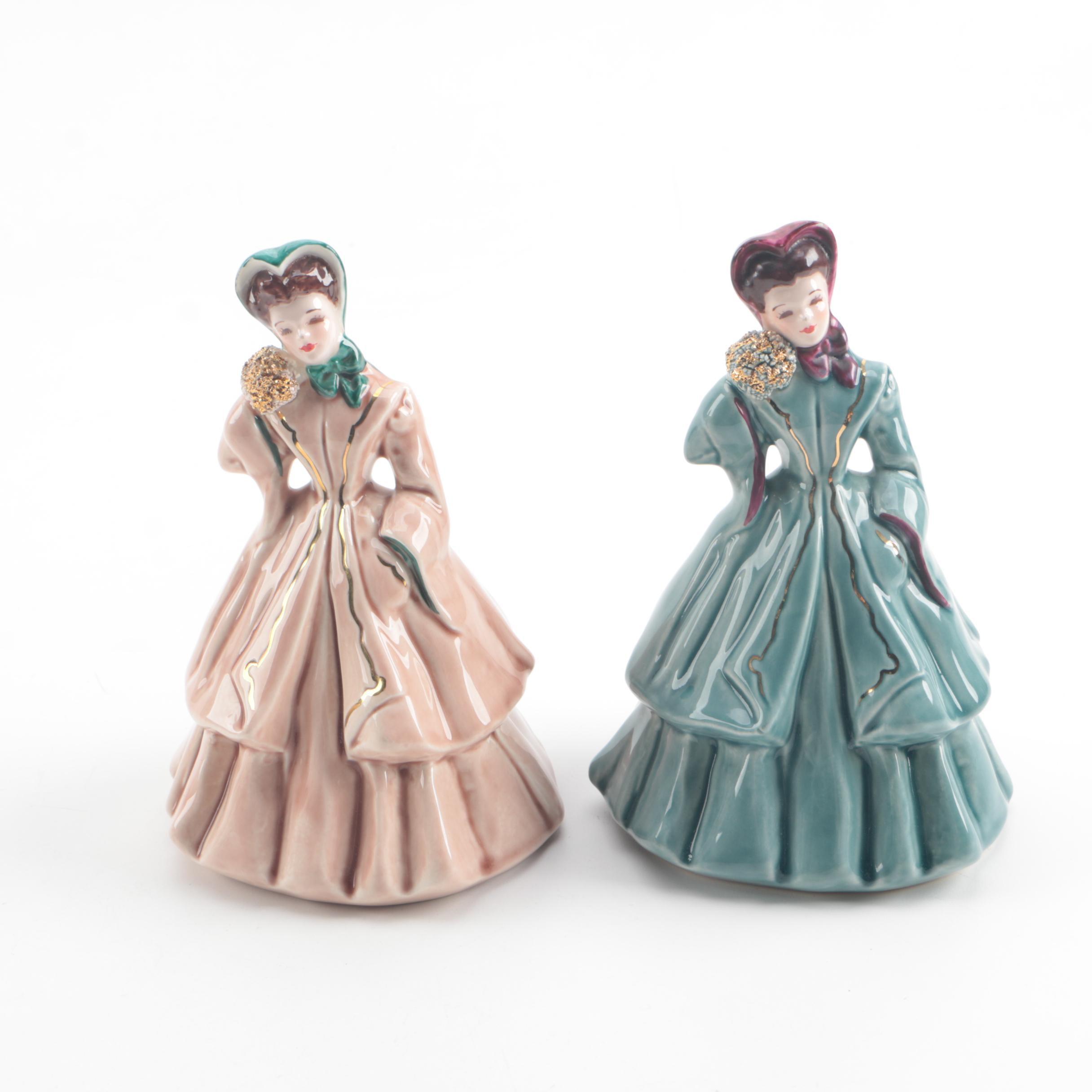 "Mid Century Florence Ceramics ""Irene"" Figurines"
