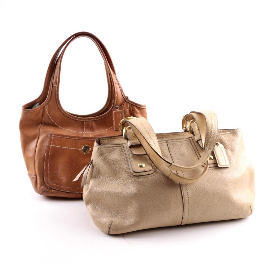 bea1114b43d Coach Ergo Legacy Hobo and Soho Satchel Leather Handbags   EBTH