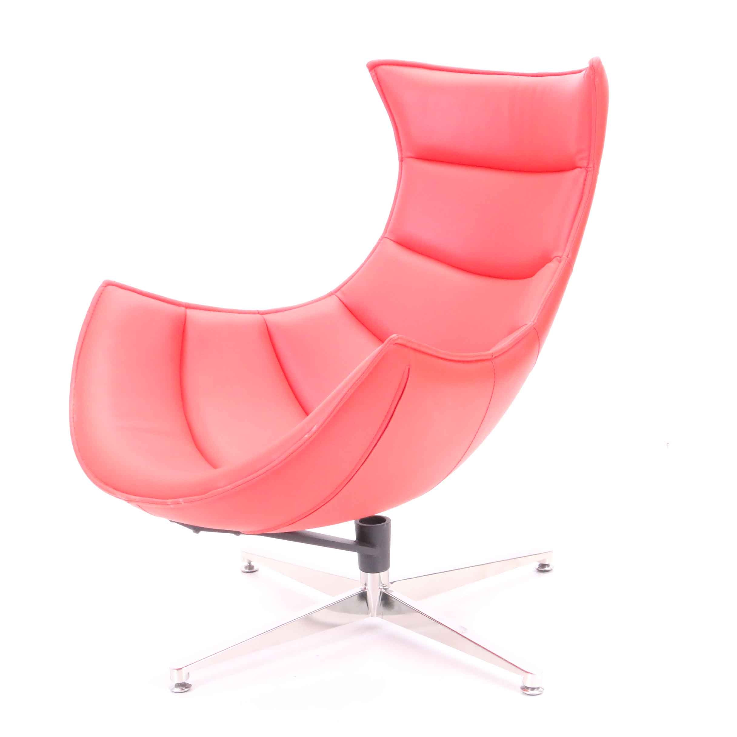 Mid Century Modern Style Cocoon Chair