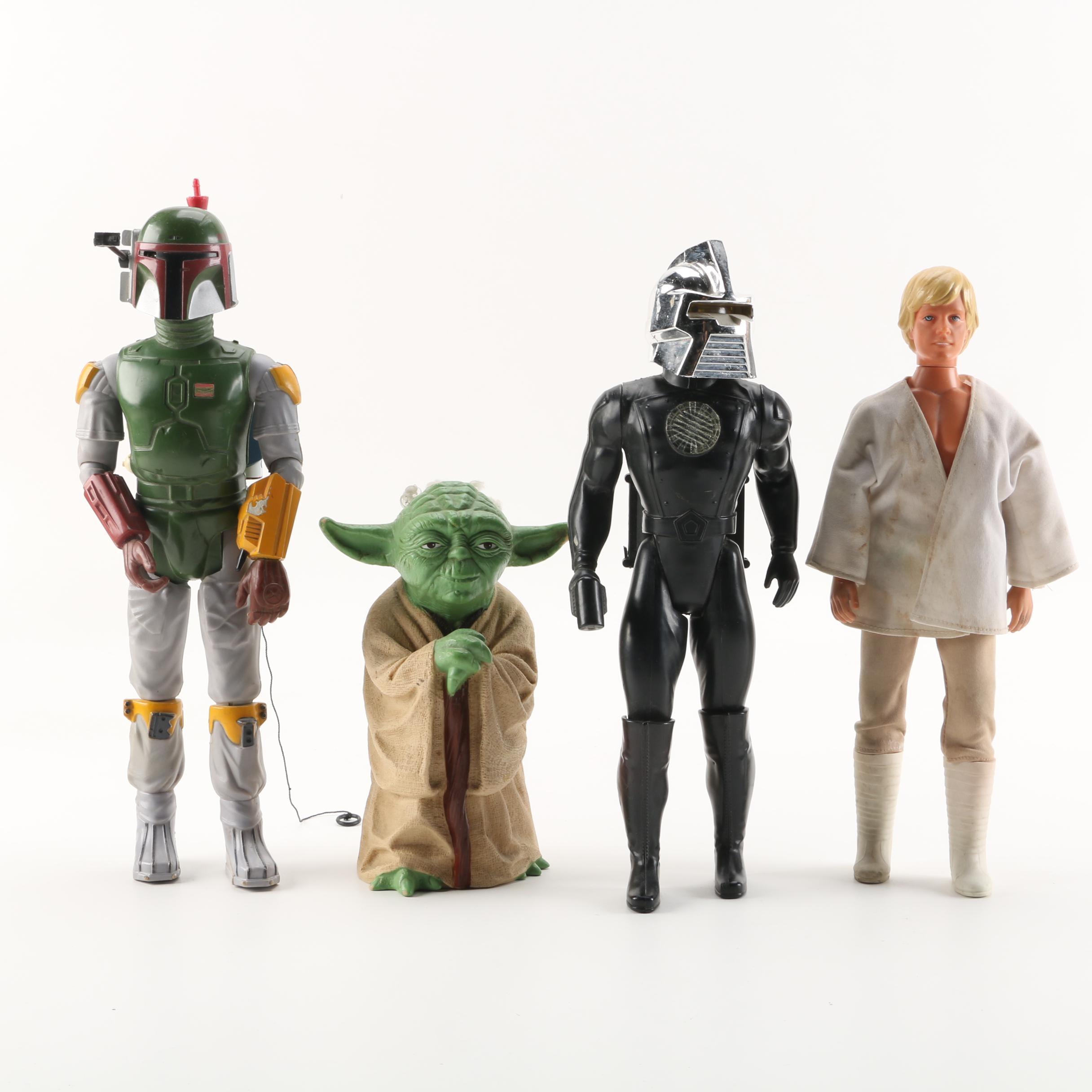 "1970s-1980s ""Star Wars"" and ""Battlestar Galactica"" Action Figures"