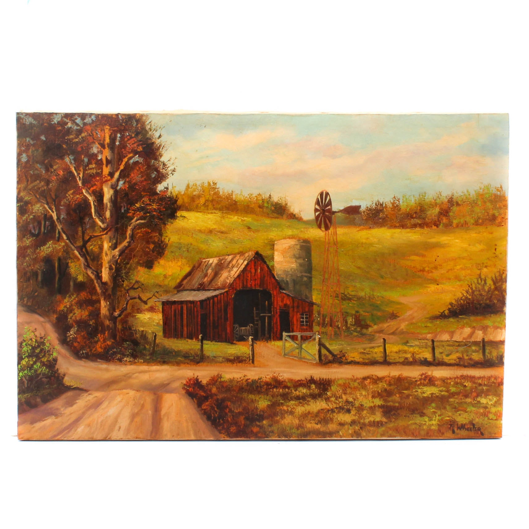 R. Wheeler Oil Painting
