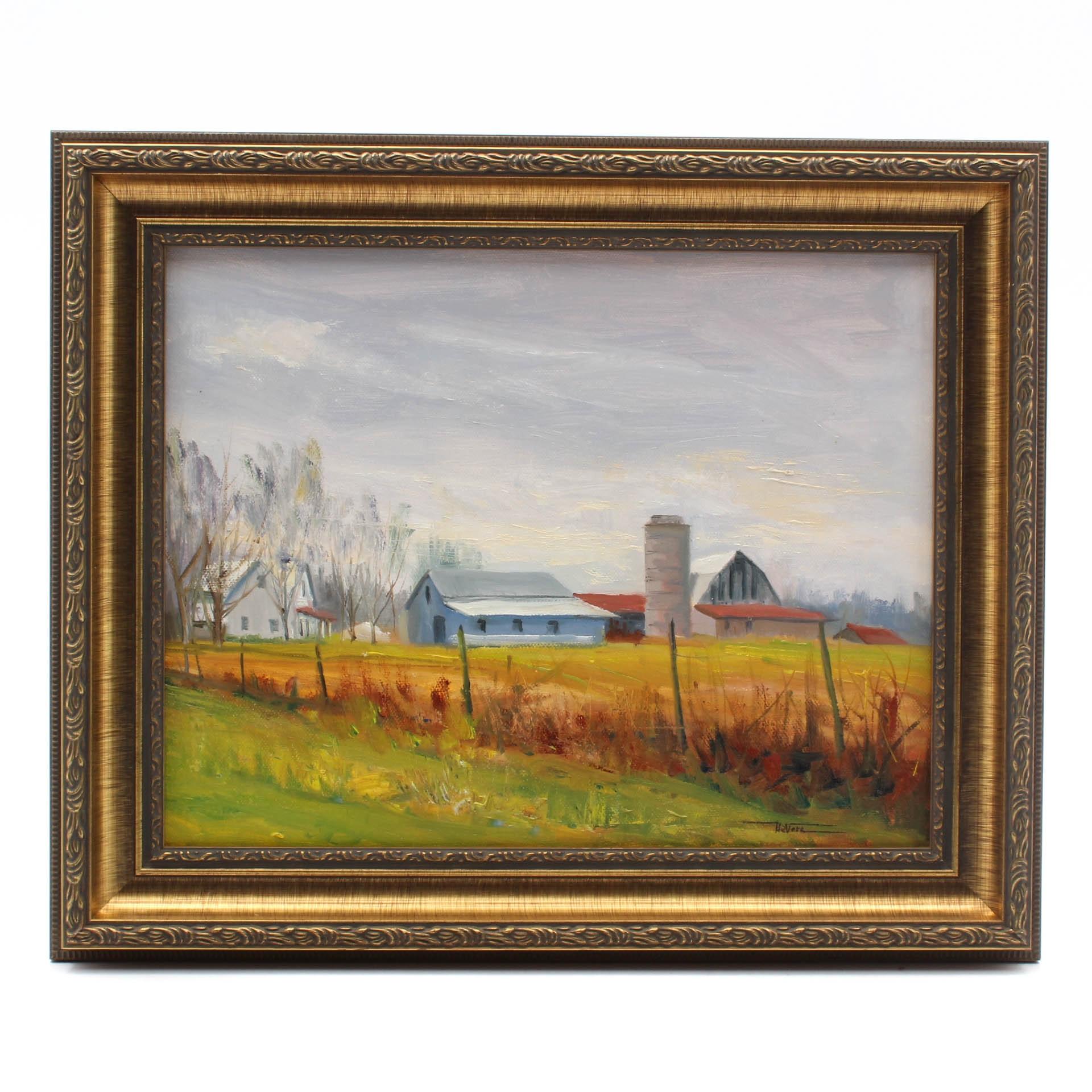 James DeVore Oil Painting