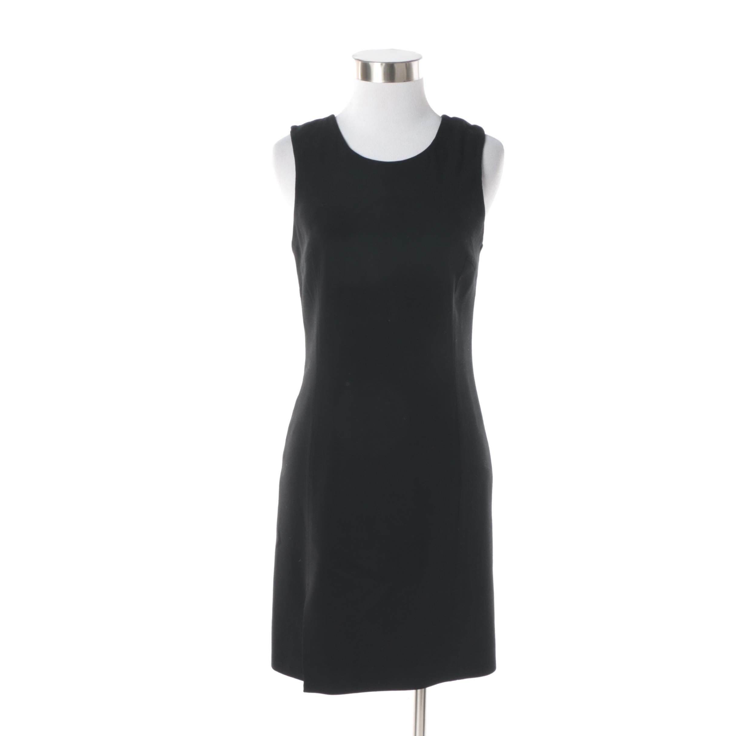 Women's Grace MMXIII Sleeveless Cocktail Dress with Leather Bow Accents to Back