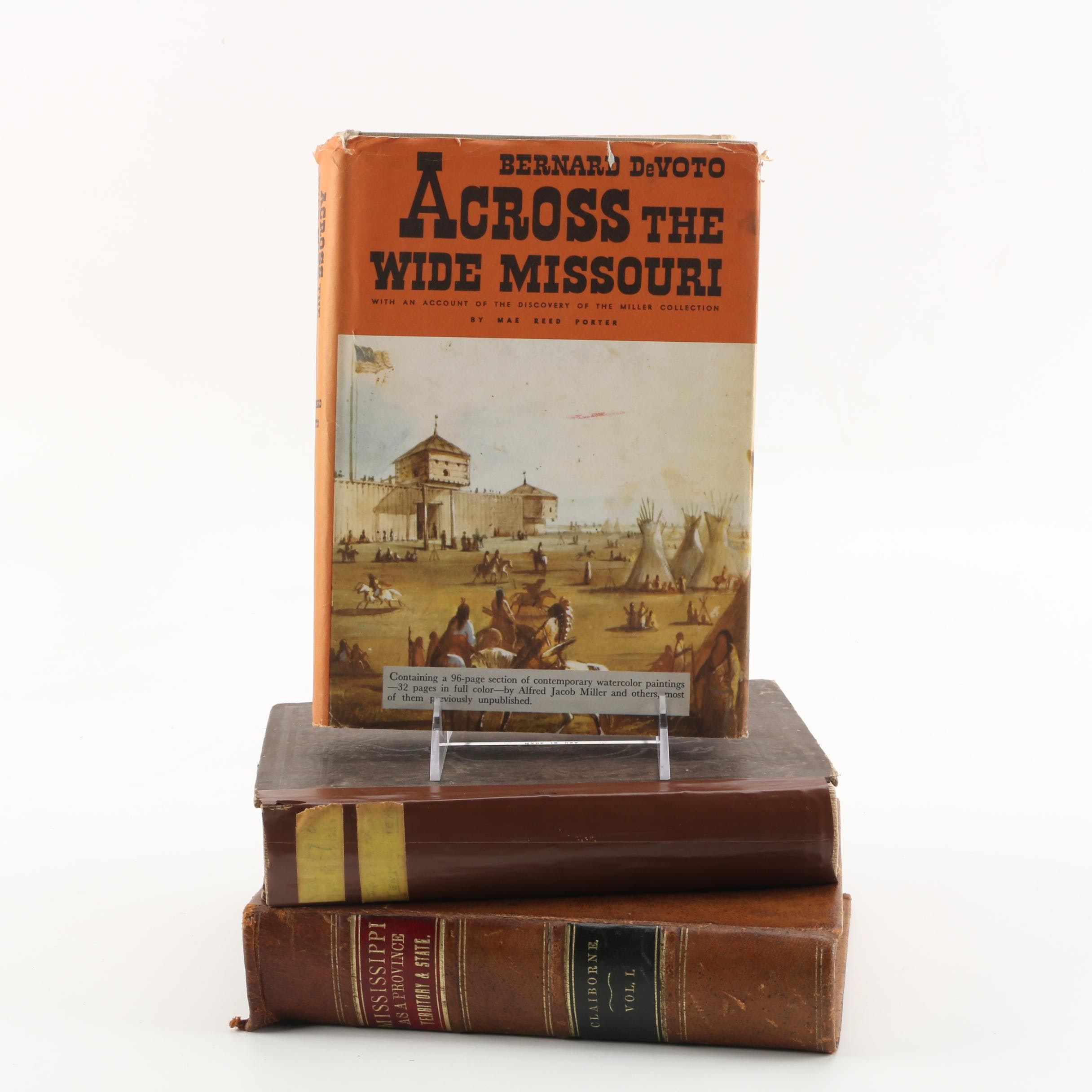 Antique and Vintage Books on the Mississippi and Missouri River Valleys