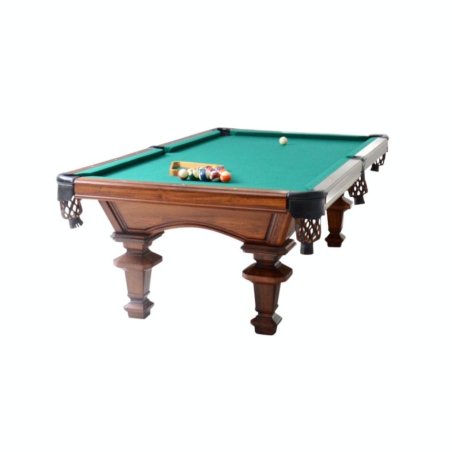Peter Vitalie Co Sterling Slate Top Billiards Table EBTH - Sterling pool table