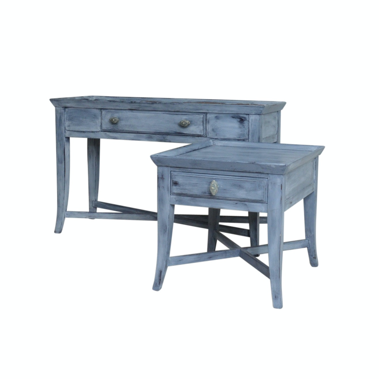 Broyhill Sofa Table with Matching End Table