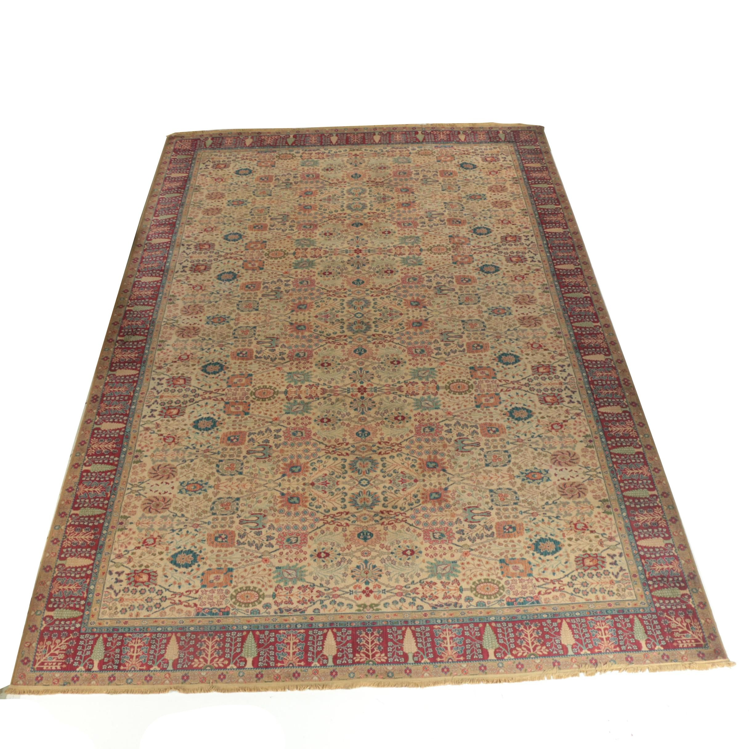 "Power-Loomed Karastan Samovar Collection ""Persian Vase"" Wool Palace Sized Rug"