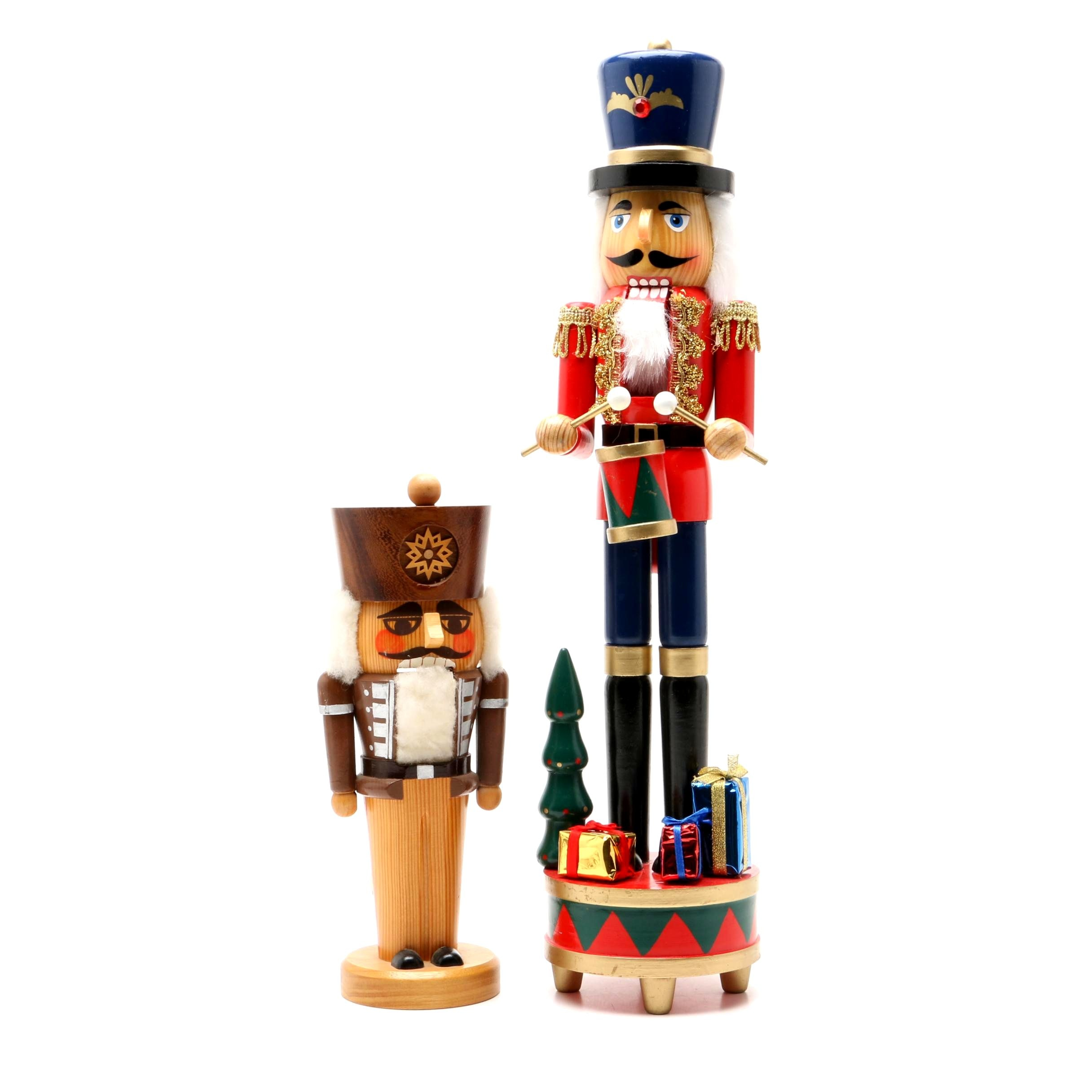 Two Wooden Nutcrackers