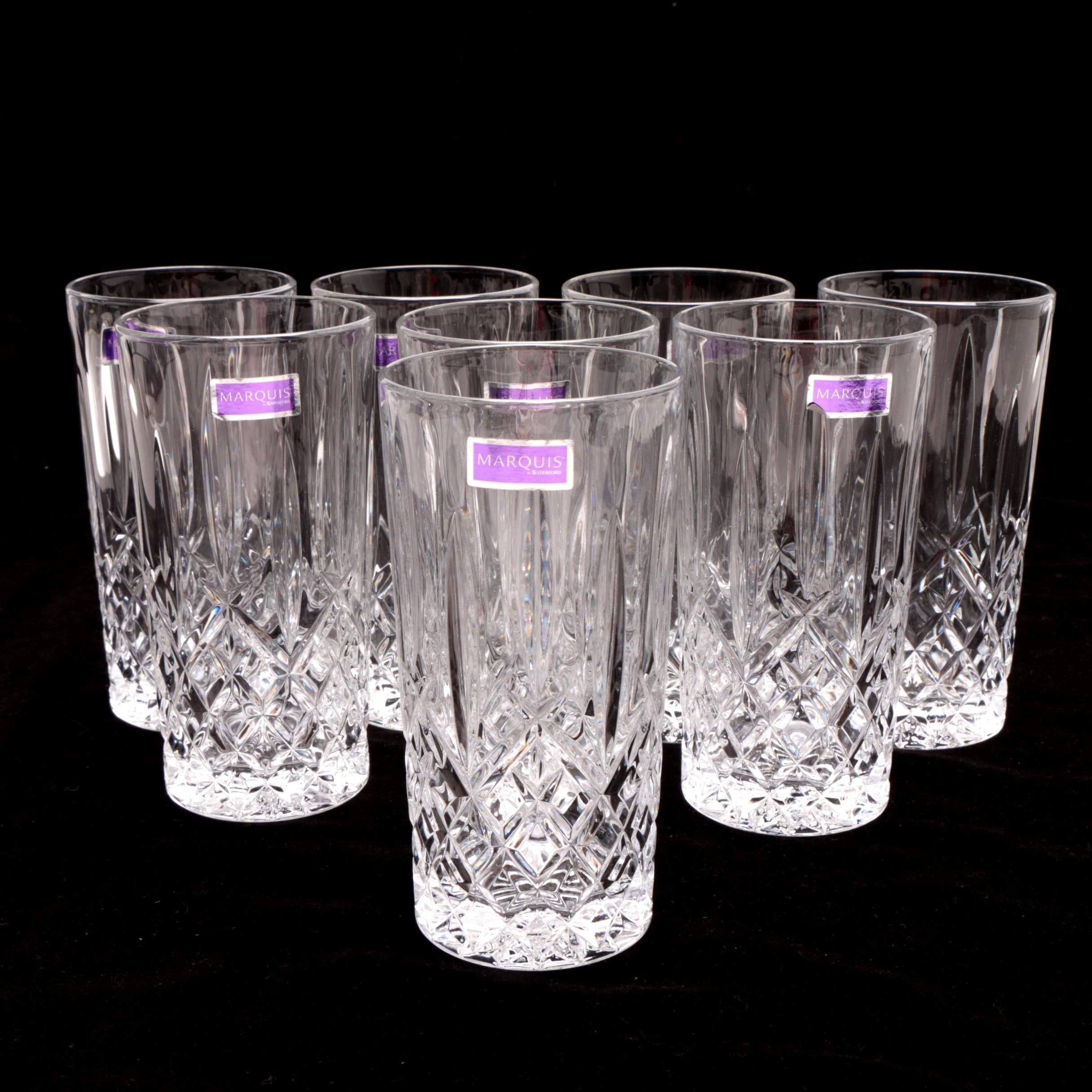 """Marquis by Waterford """"Markham"""" Highball Glasses"""