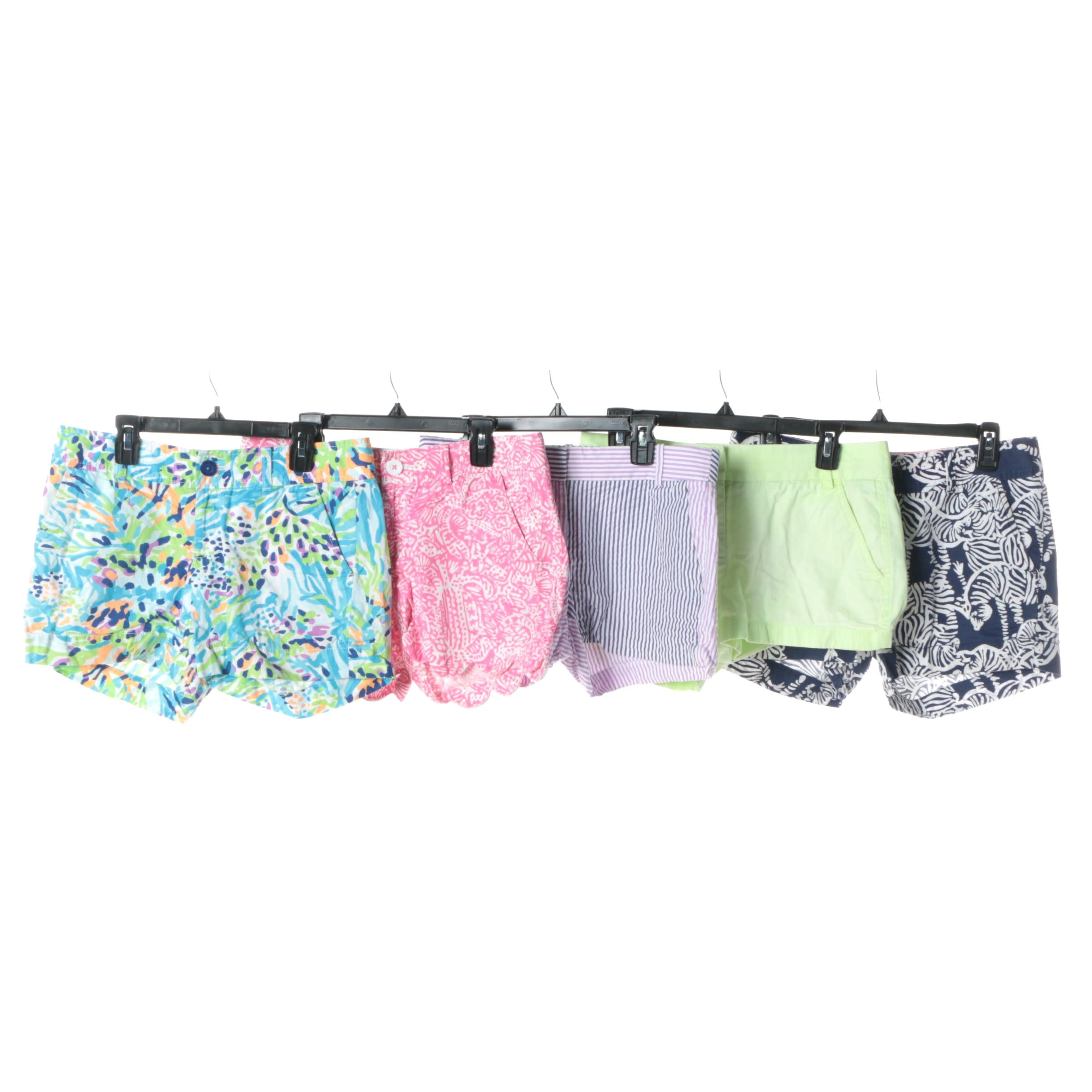 Lilly Pulitzer and J. Crew Shorts