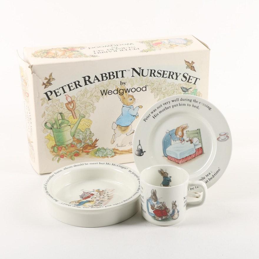 Wedgwood Peter Rabbit Nursery Set