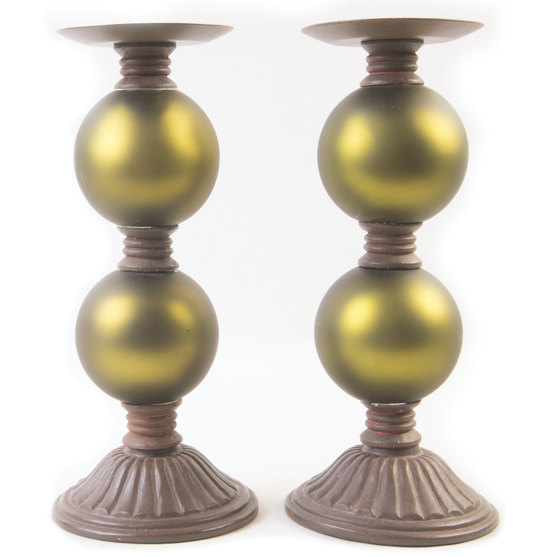 Decorative Pillar Candleholders