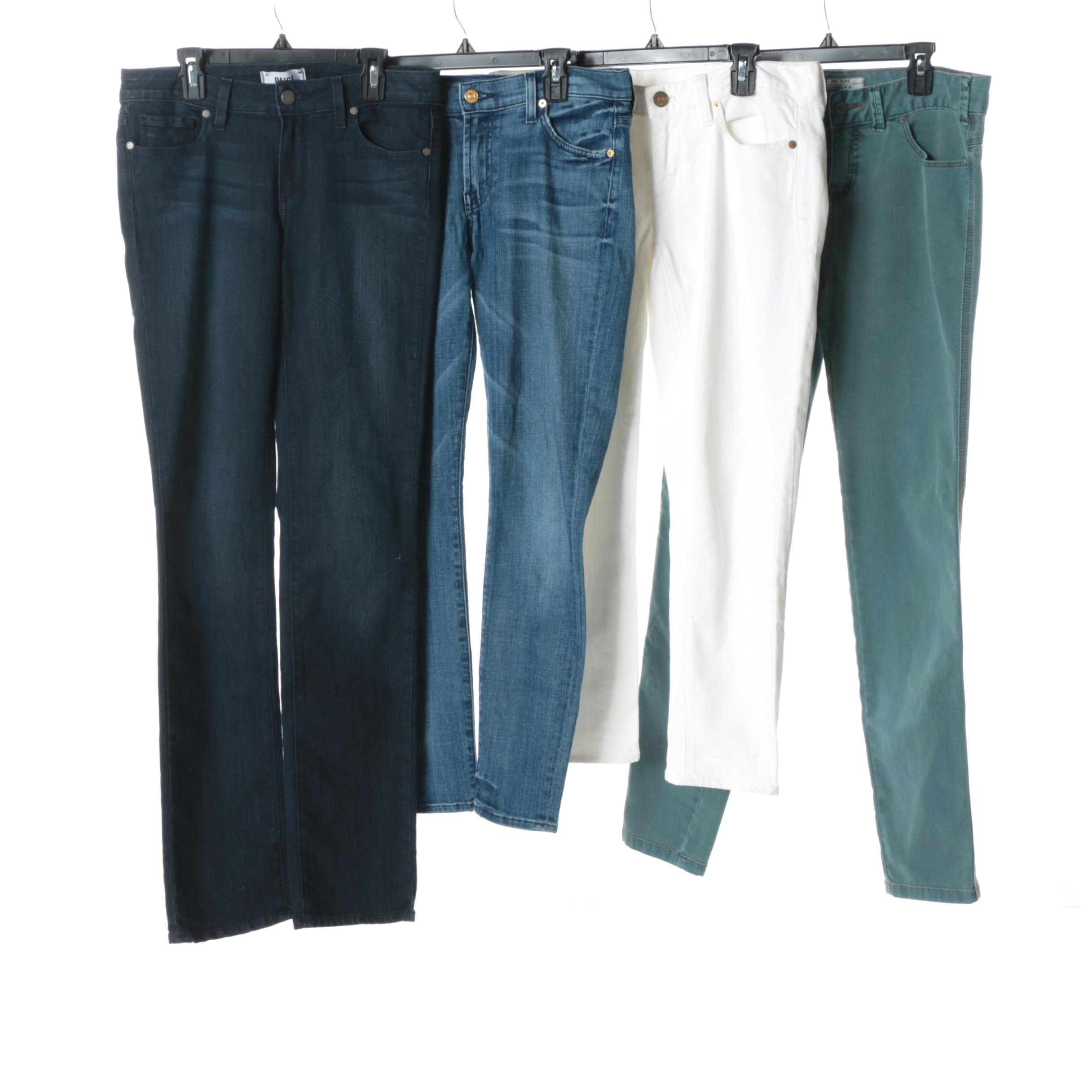 Women's Jeans Including 7 For All Mankind, Free People and J. Crew