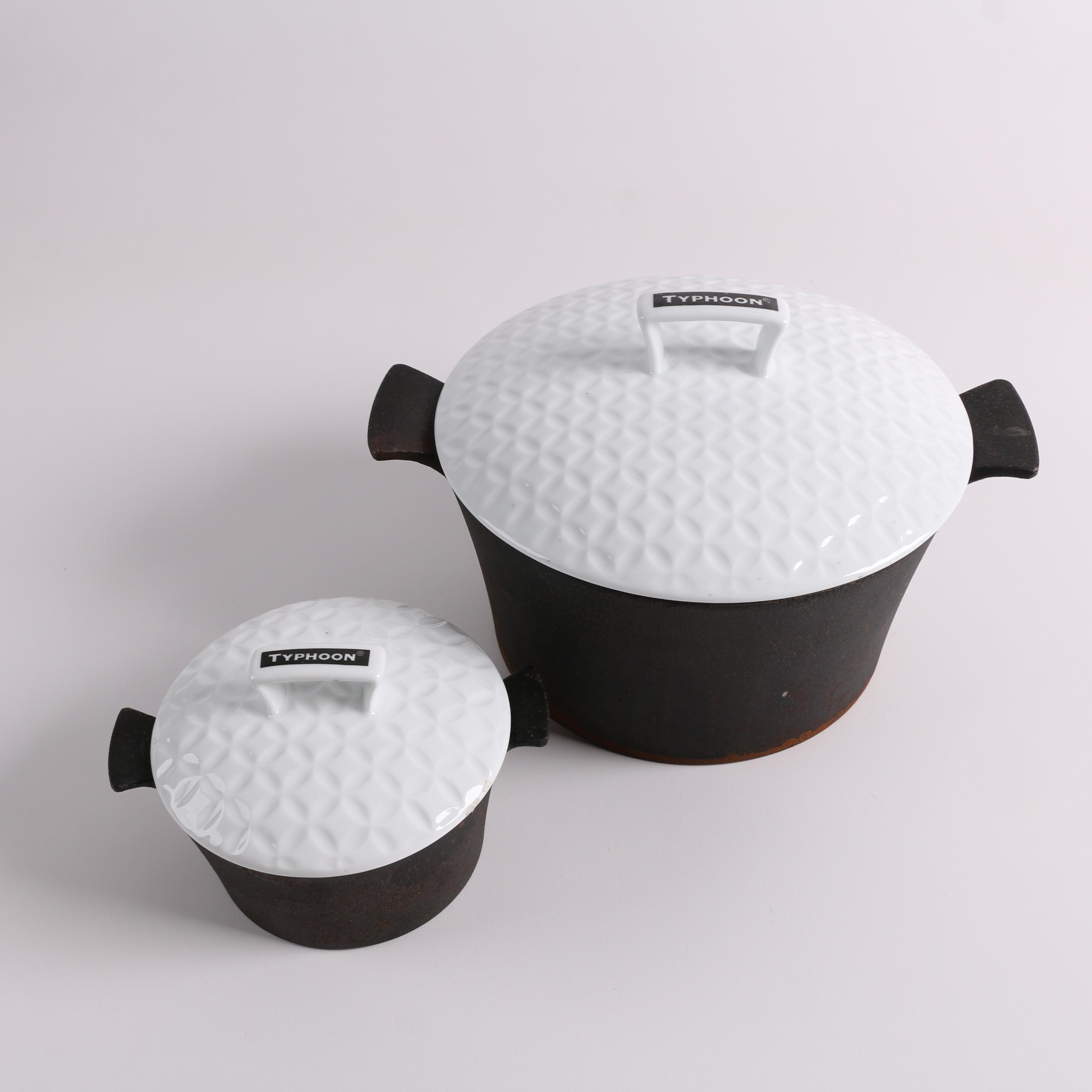 "Typhoon ""Skandi"" Cast Iron Covered Casseroles"