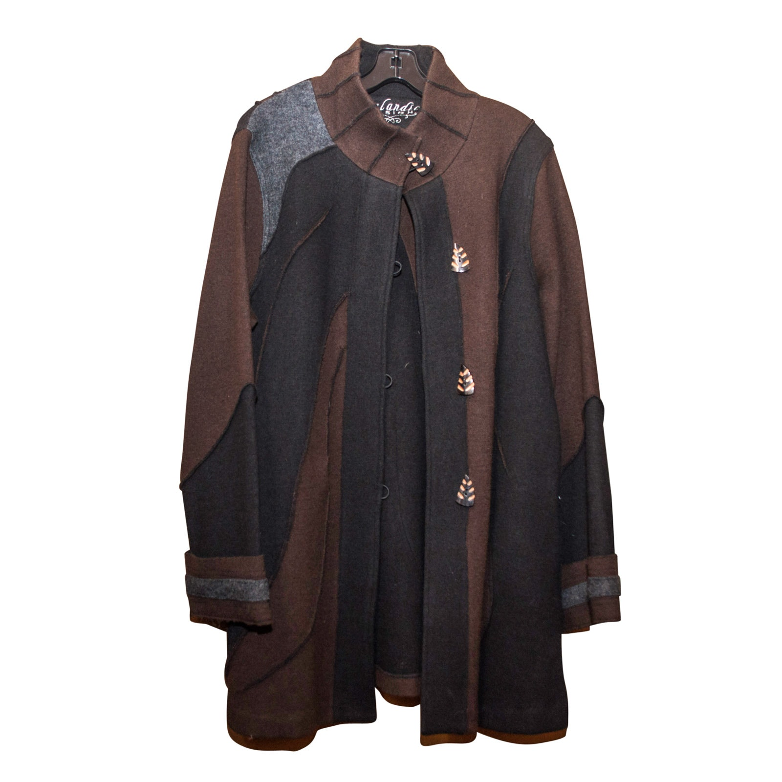 Icelandic Design Wool Coat