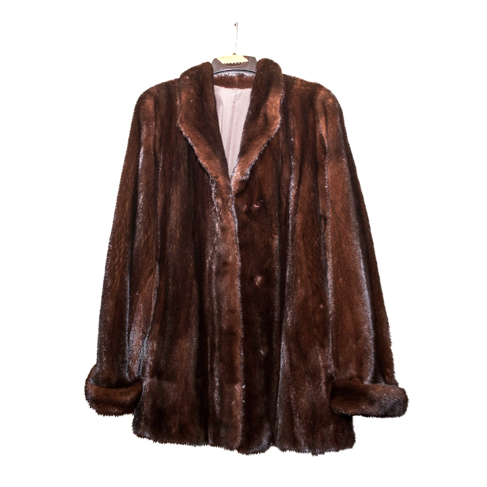 Vintage Dasco Brown Mink Fur Jacket