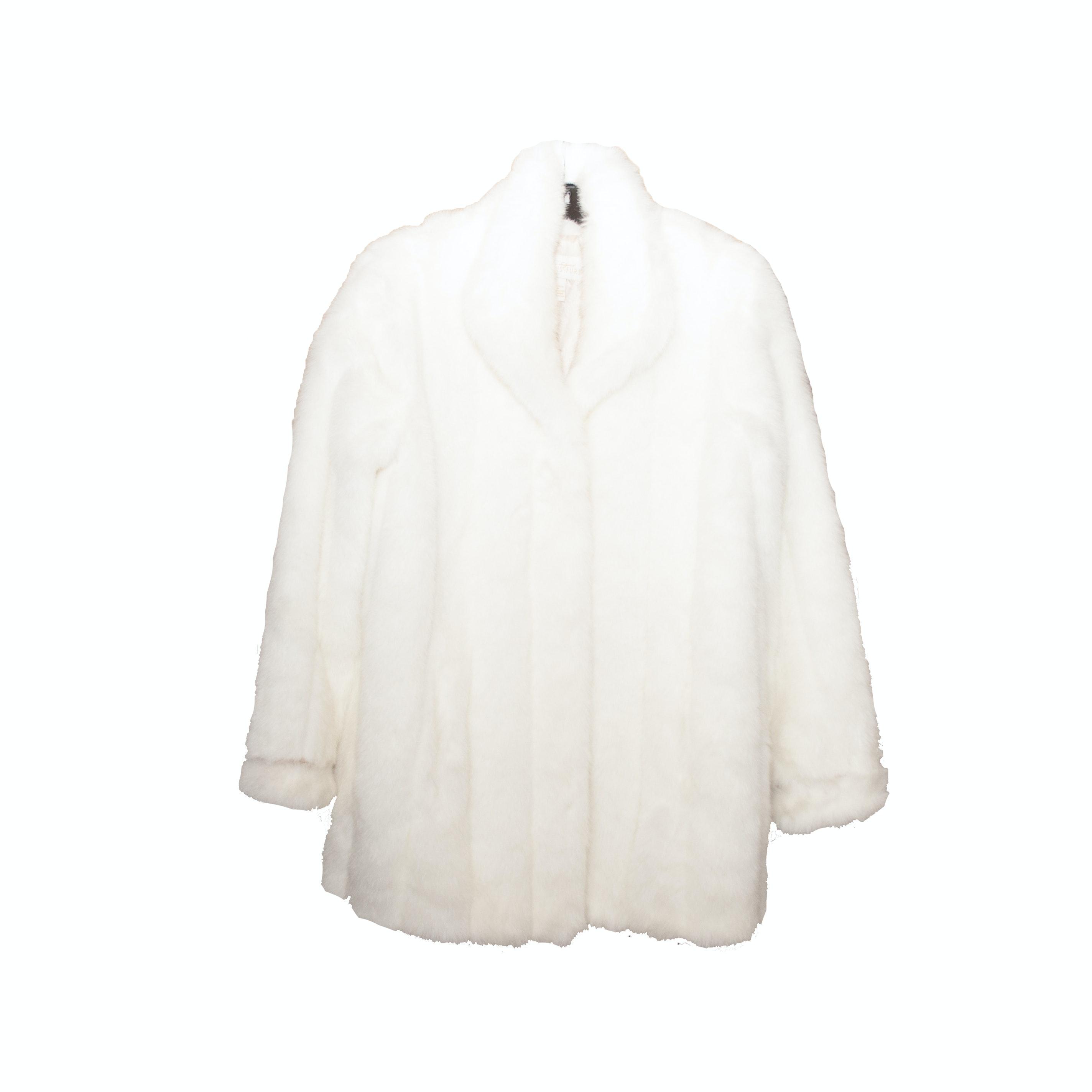 Vintage Donna Salyer's Fabulous Furs Faux Fur Jacket