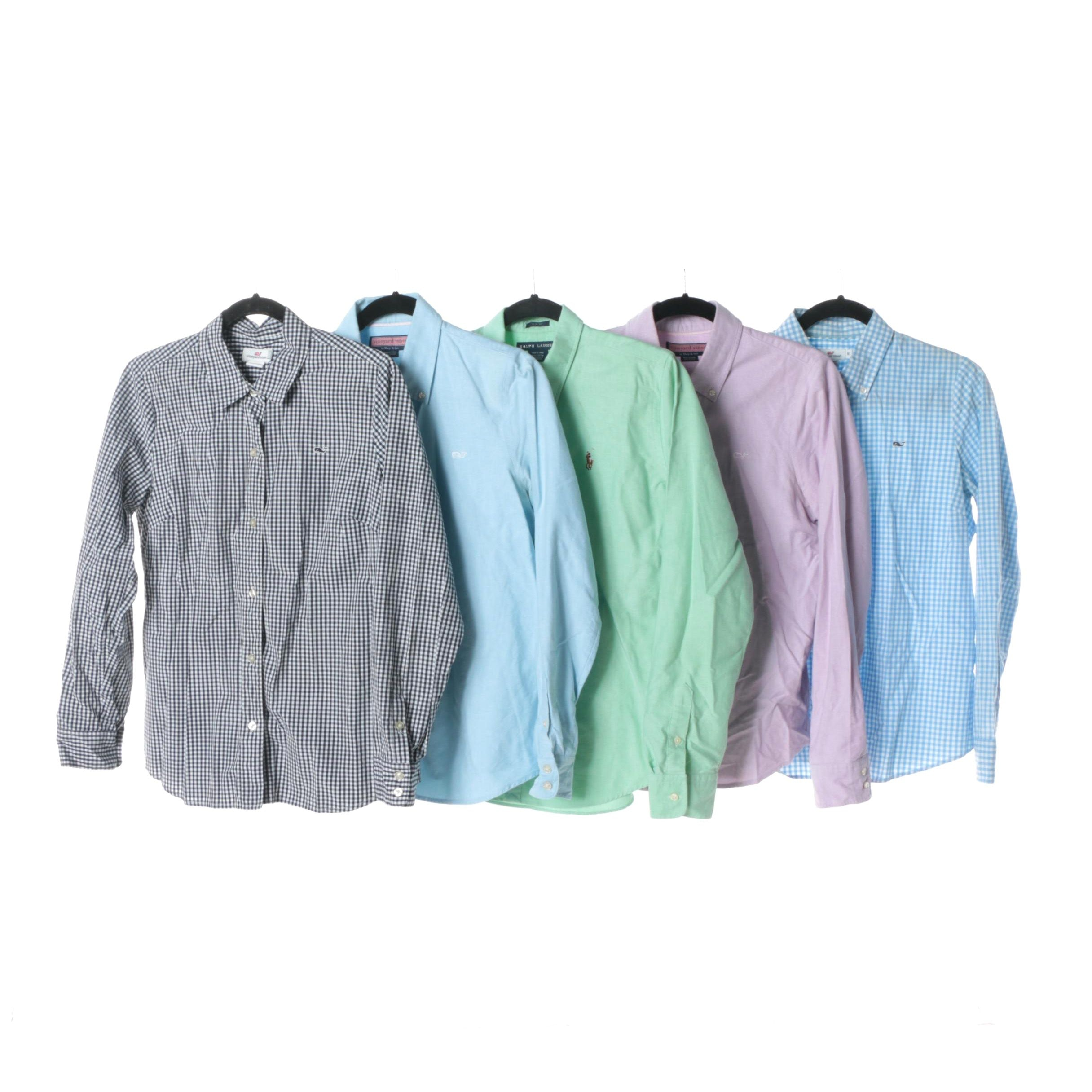 Women's Vineyard Vines with Ralph Lauren Button-Down Shirts