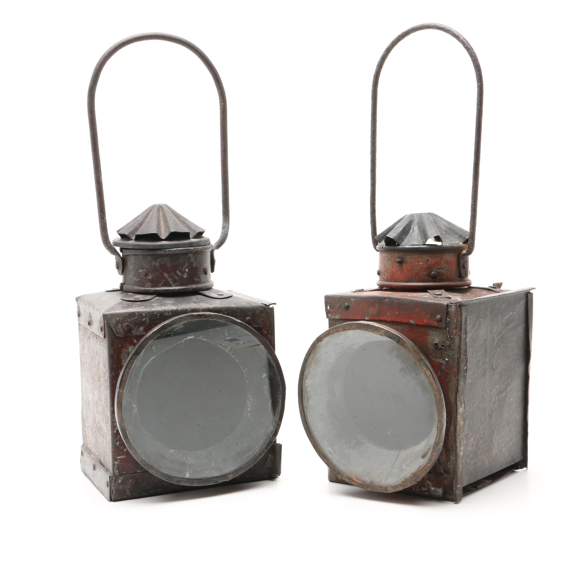 Antique Carriage Lanterns