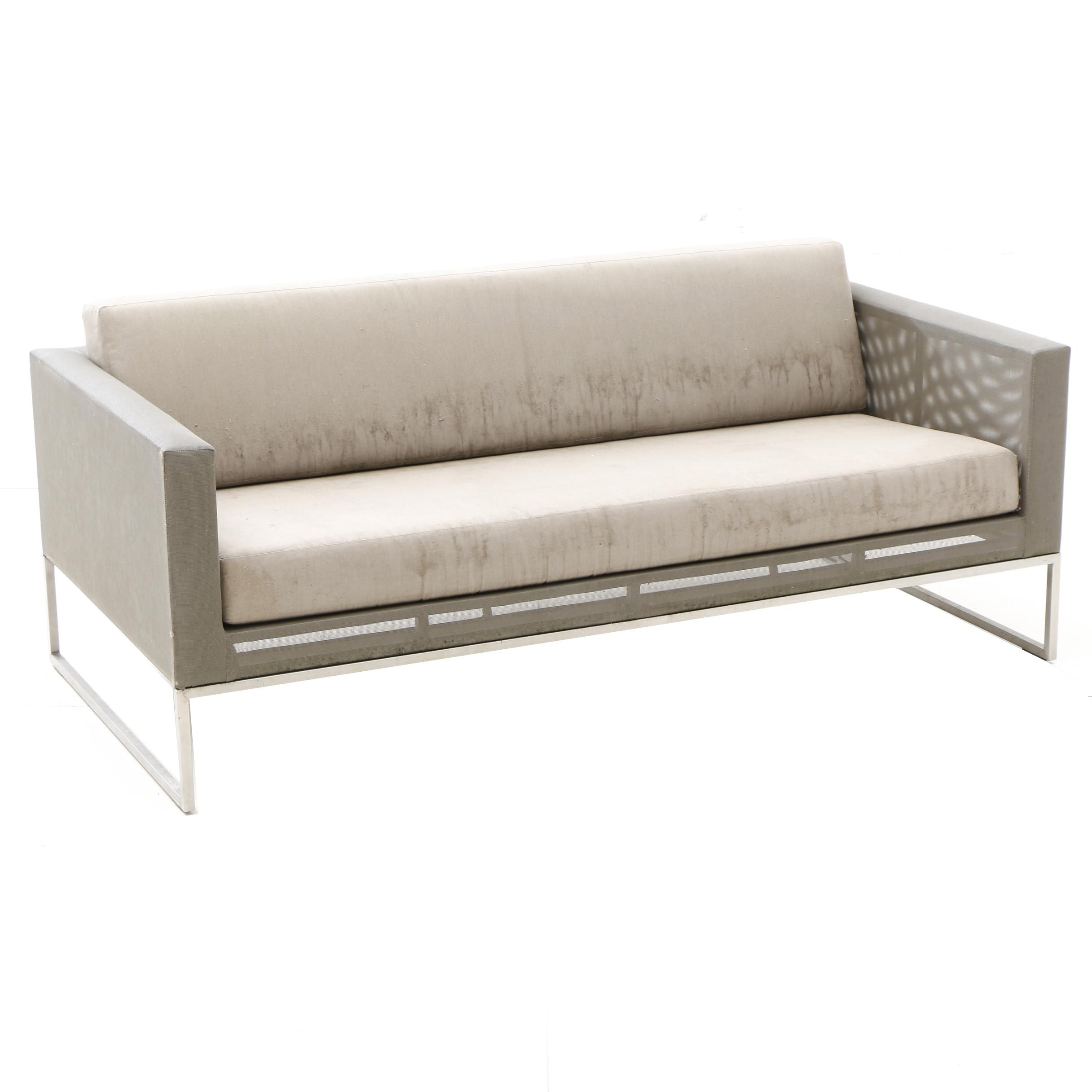 Outdoor Patio Sofa, Crate and Barrel