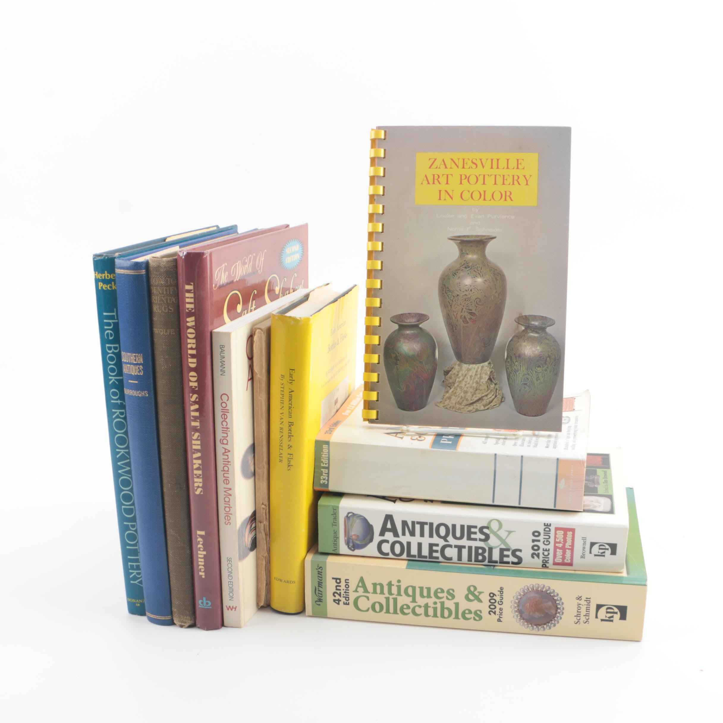 Books on Collecting Art and Antiques Including Kovels