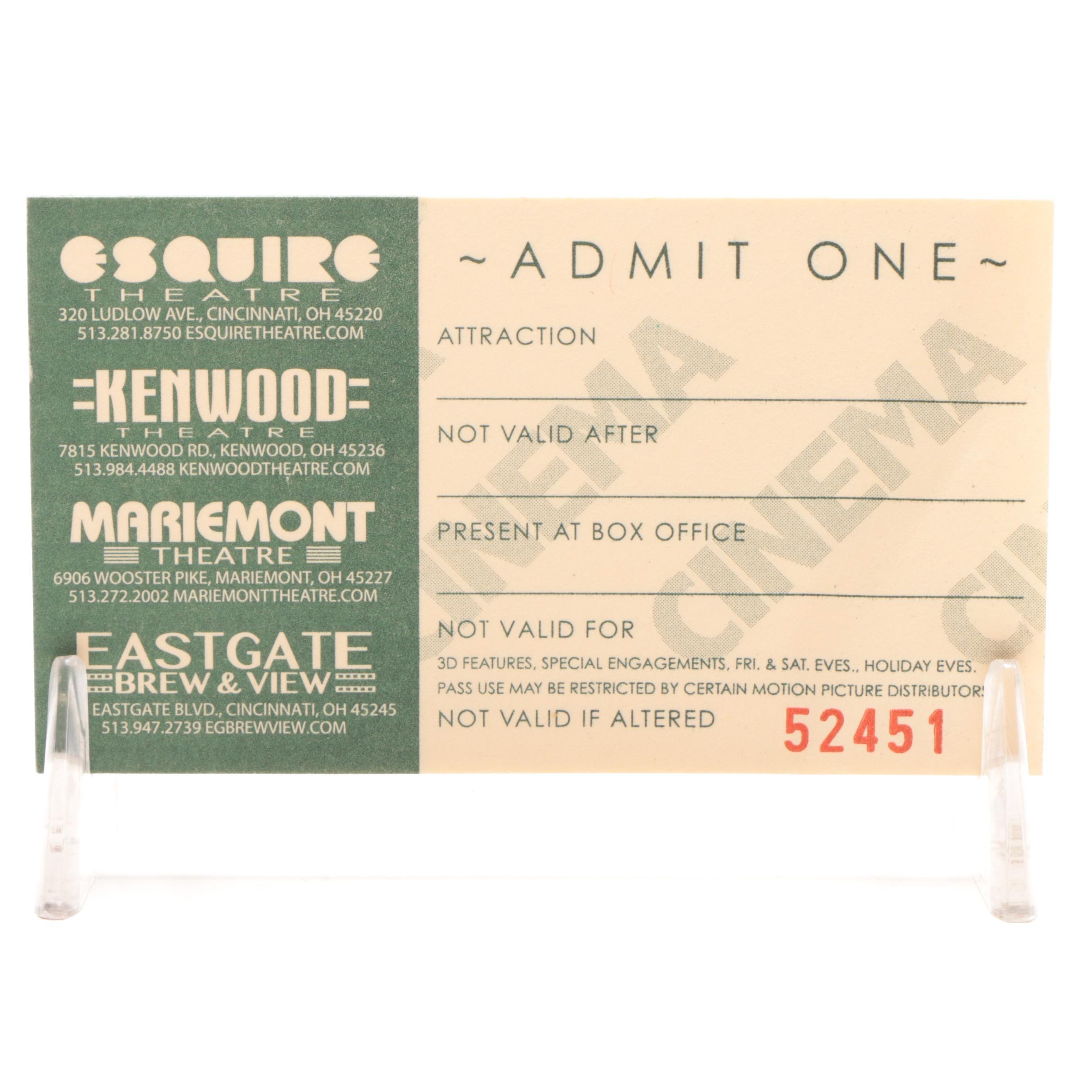25 Movie Ticket Vouchers