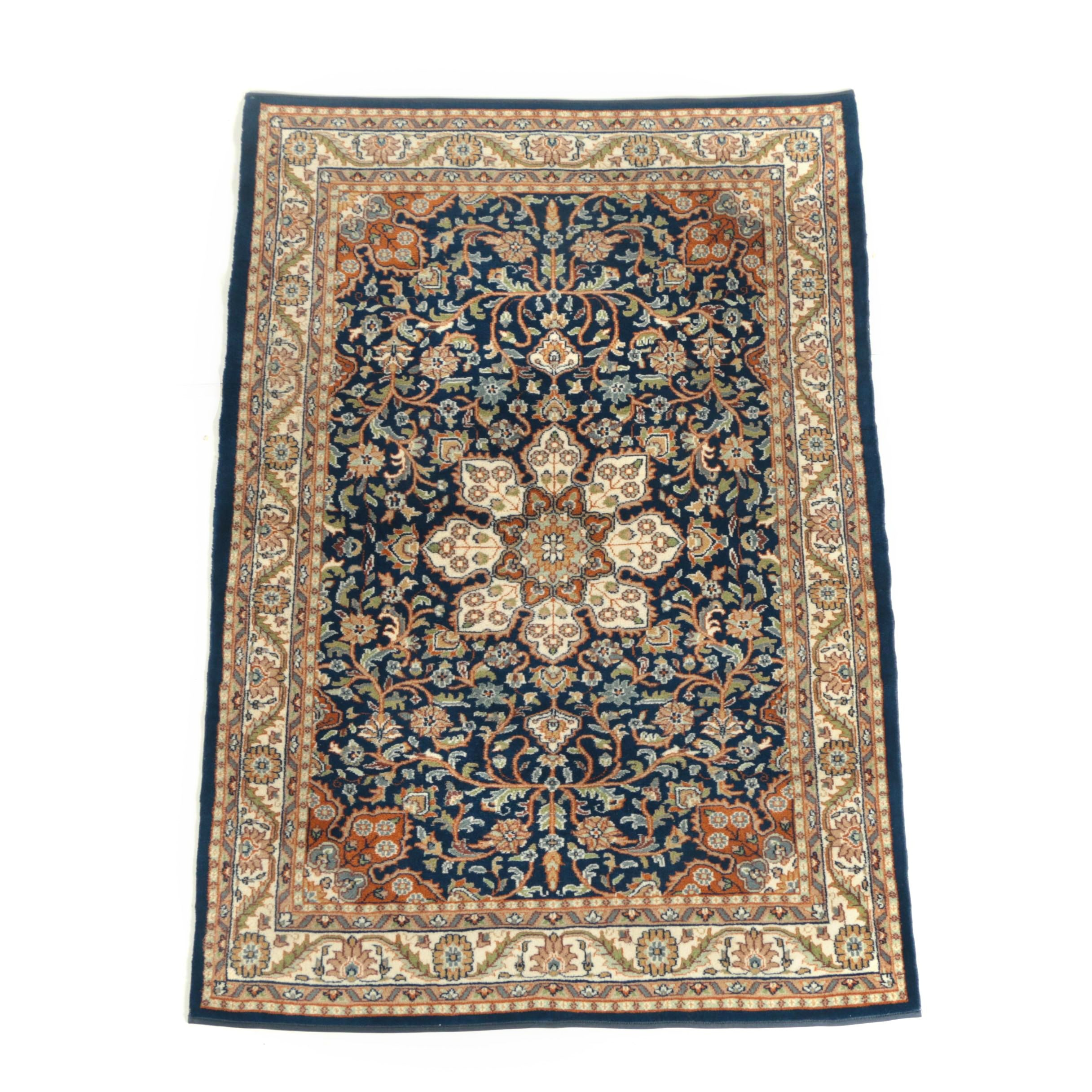 Power-Loomed Persian-Style Wool Area Rug