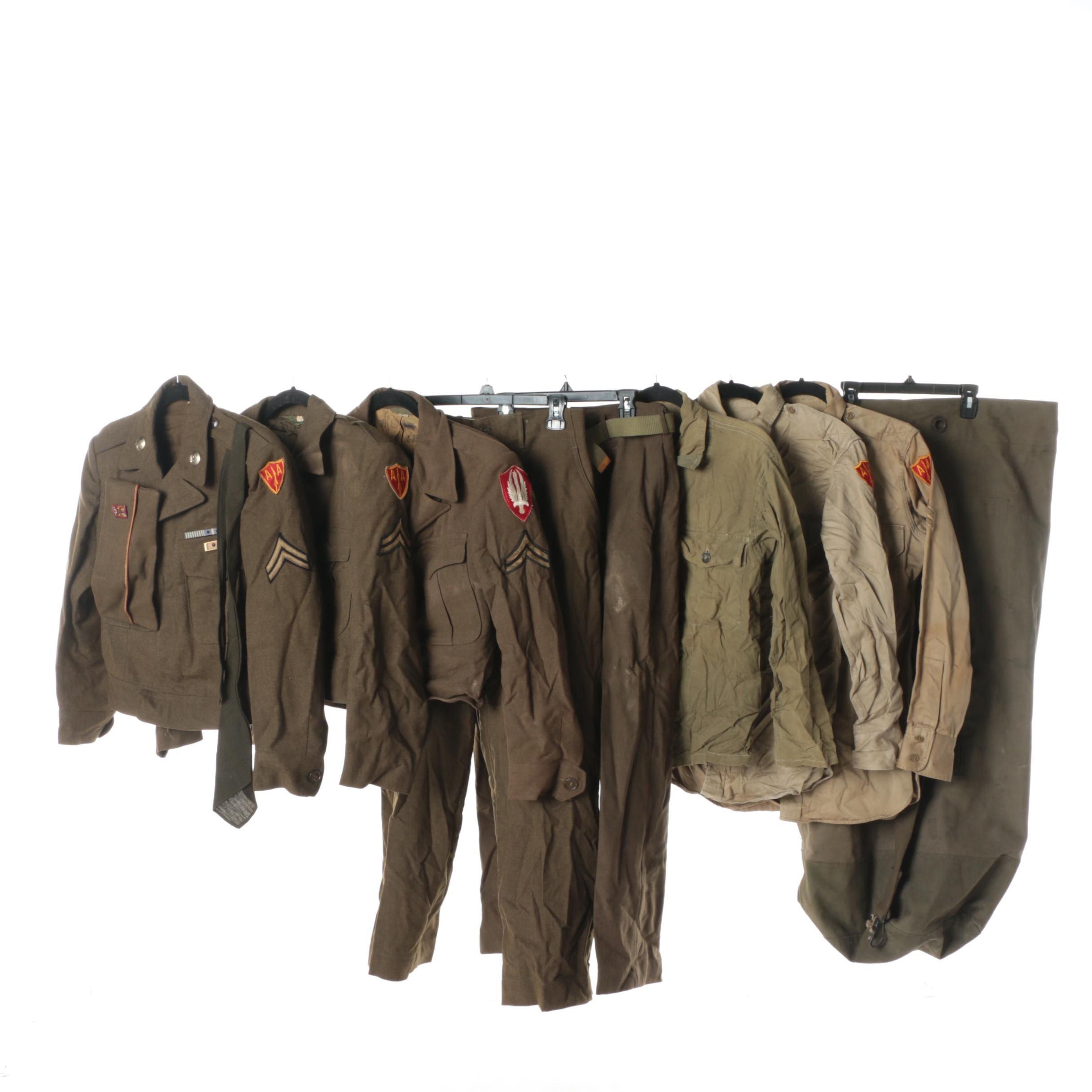 Military WWII-Era Uniforms