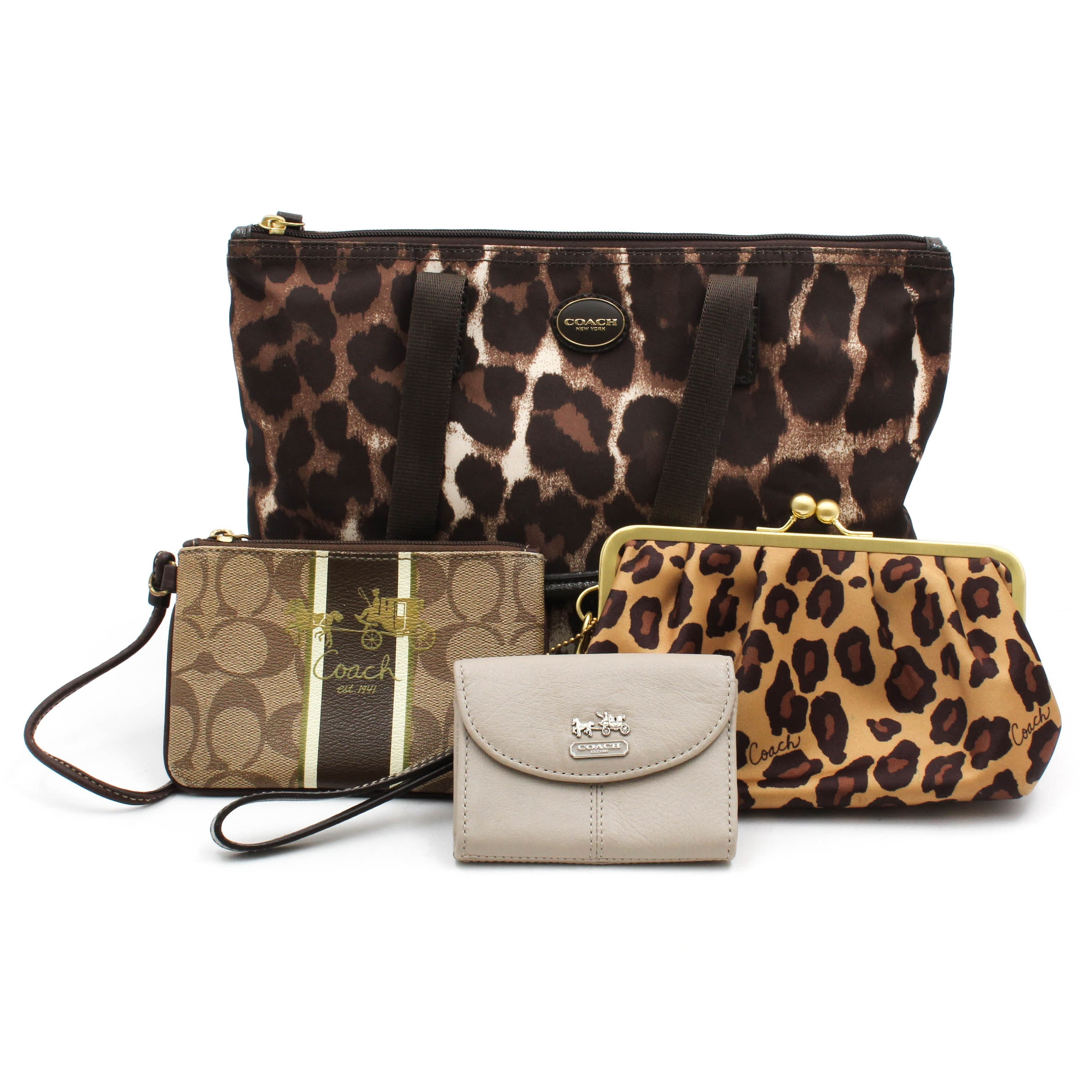 Coach #F77442 Tote, Wristlets and Wallet
