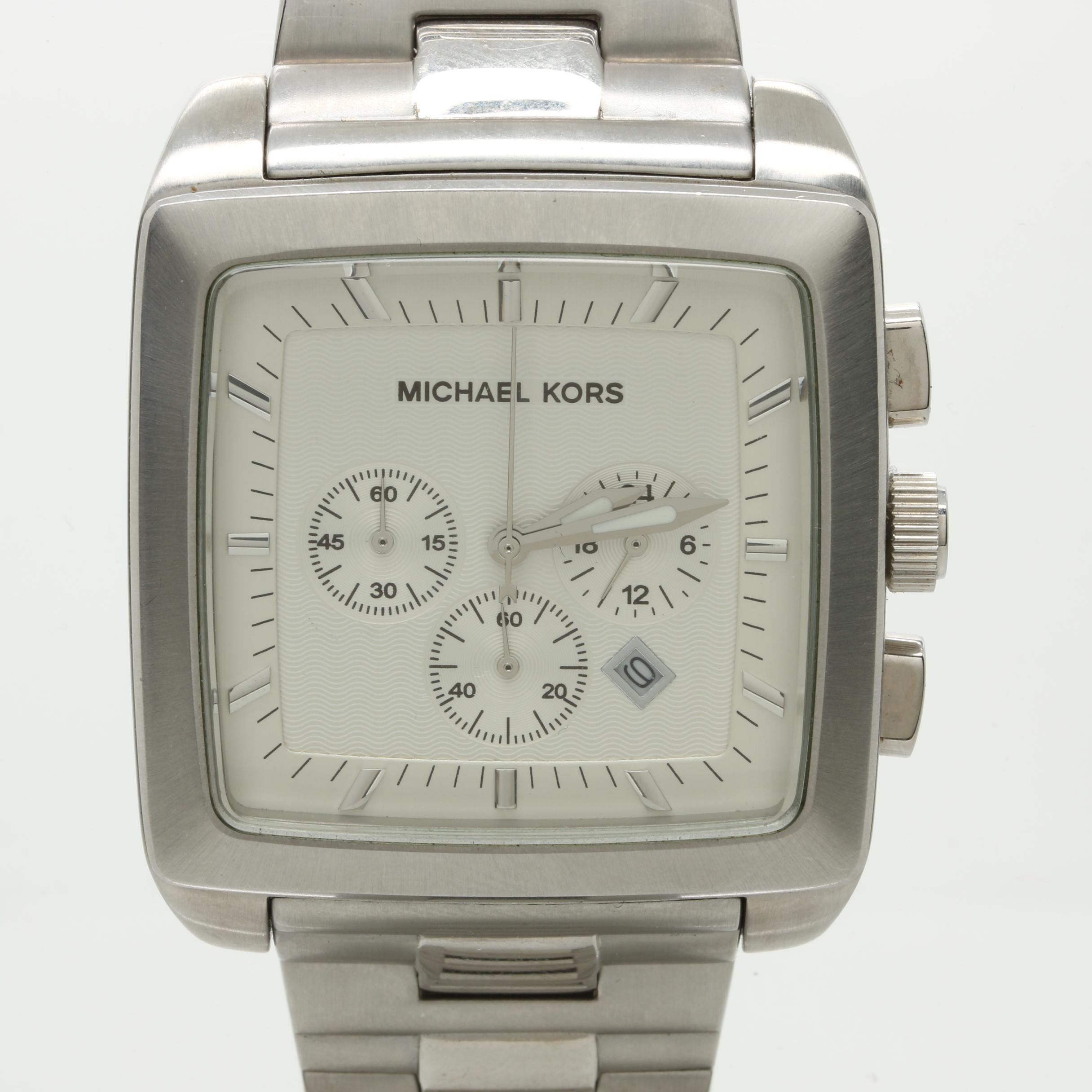 Michael Kors Stainless Steel Wristwatch