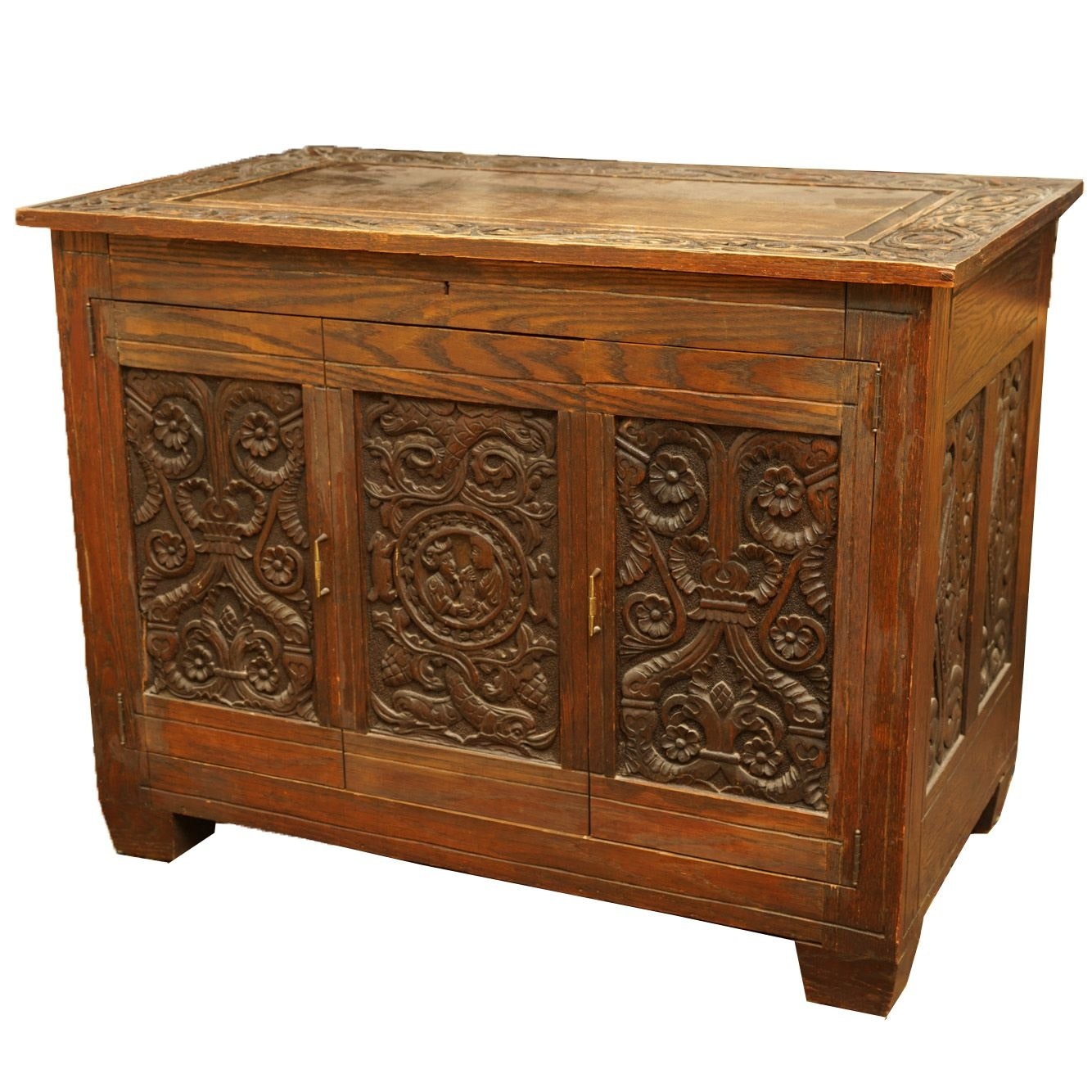 Antique Carved Cabinet