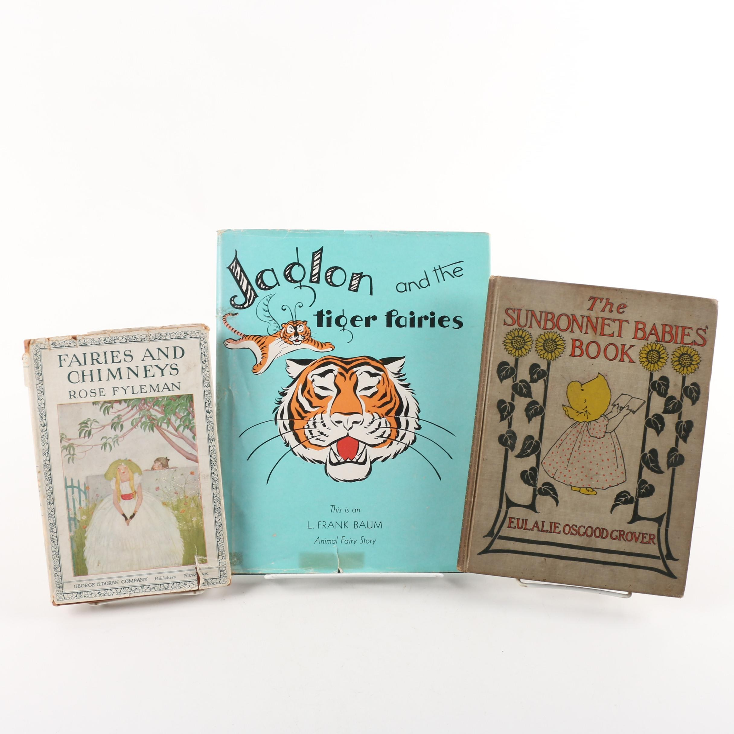Children's Books including L. Frank Baum and Eulalie Osgood Grover
