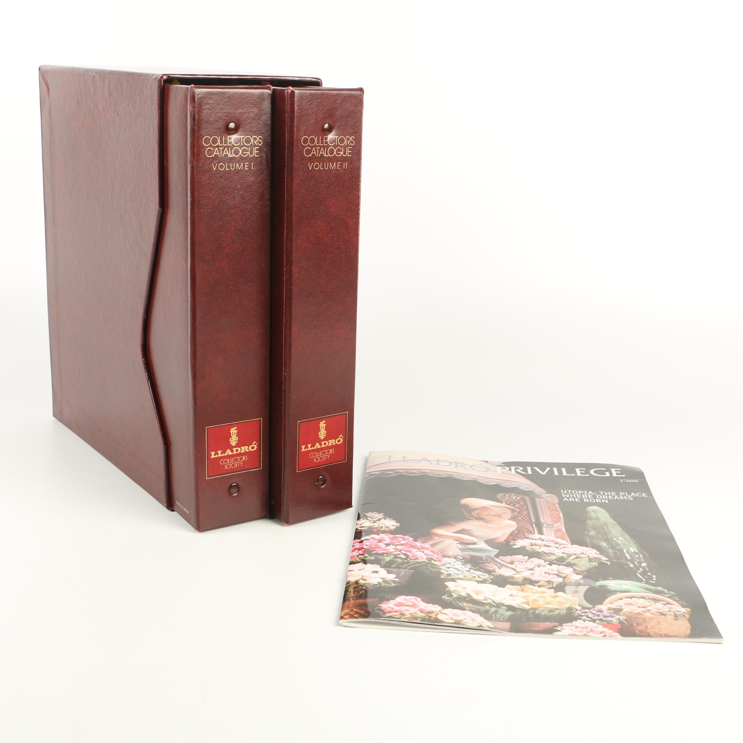 """""""Lladró Collectors Catalogue"""" Volumes I and II"""