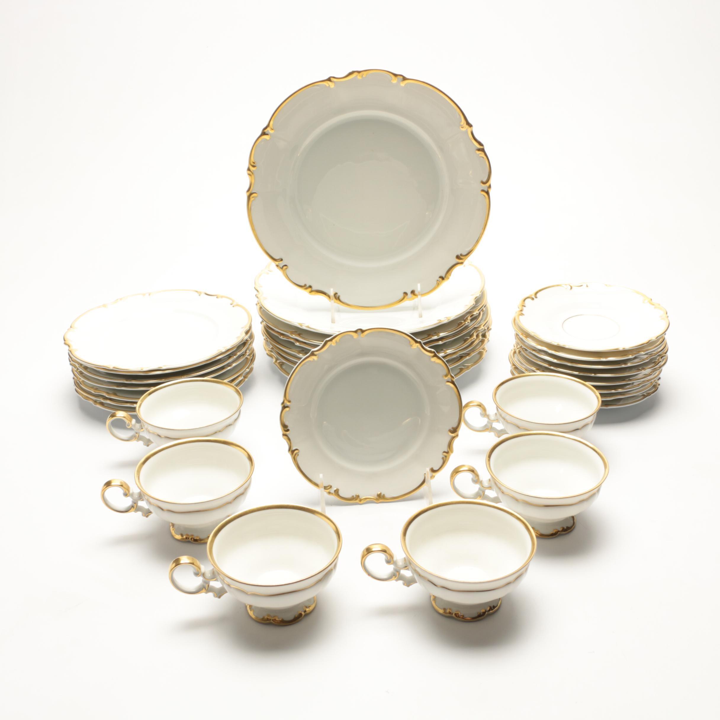 """Vintage Hutschenreuther """"Revere"""" Porcelain Tableware"""