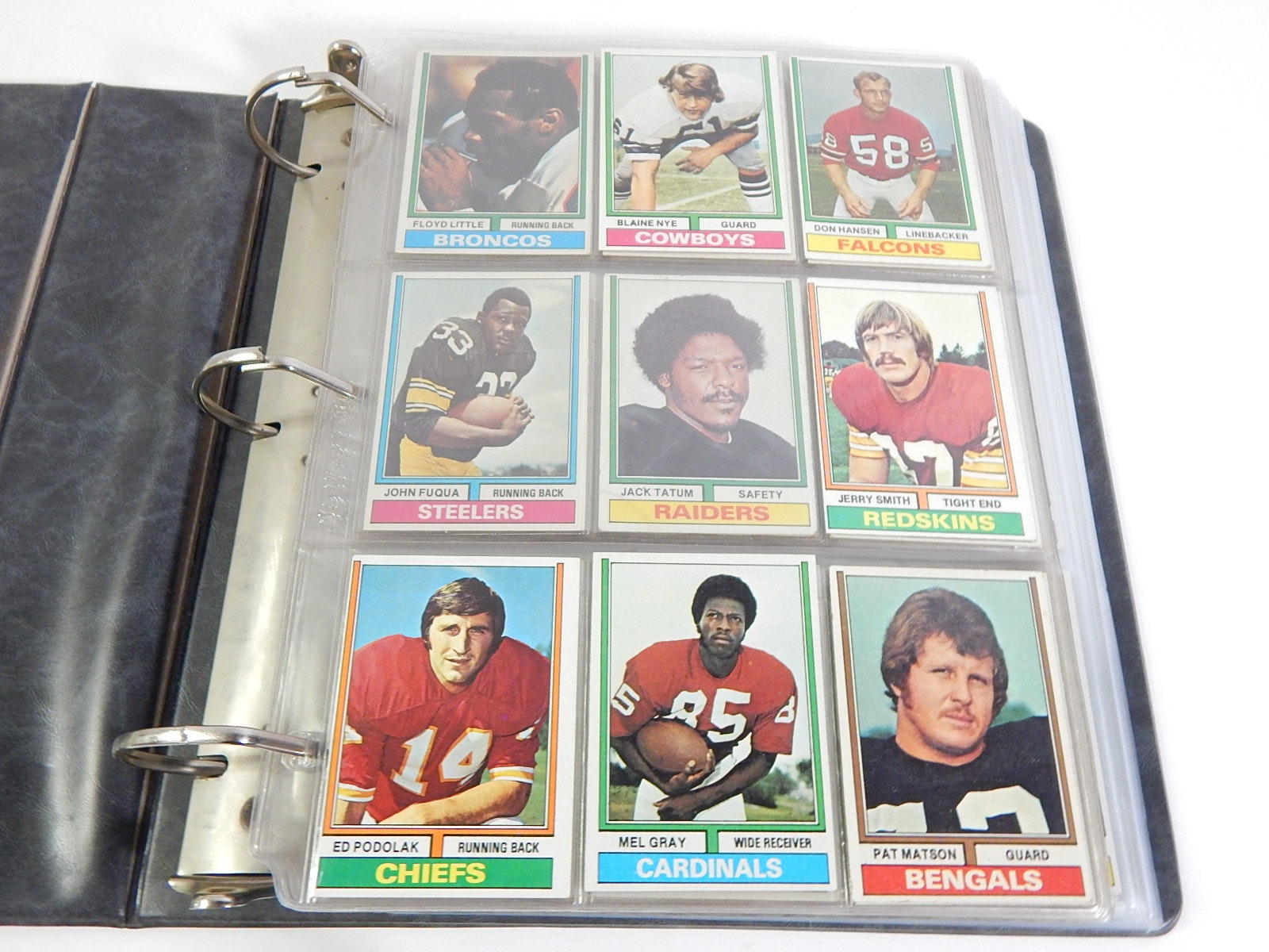 1974 Topps Football Partial Set - Around 300 Card Count